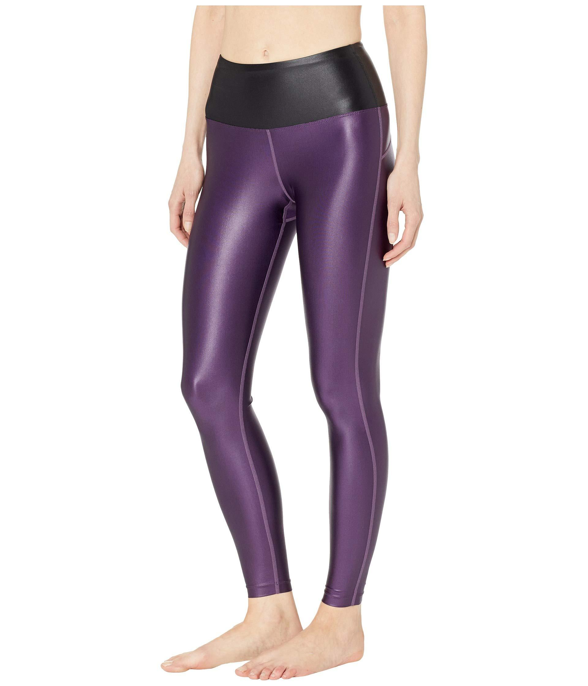 b35b17f3f749 Lyst - Asics Luxe Traveler High-waisted Tights (night Shade performance  Black) Women s Casual Pants in Purple
