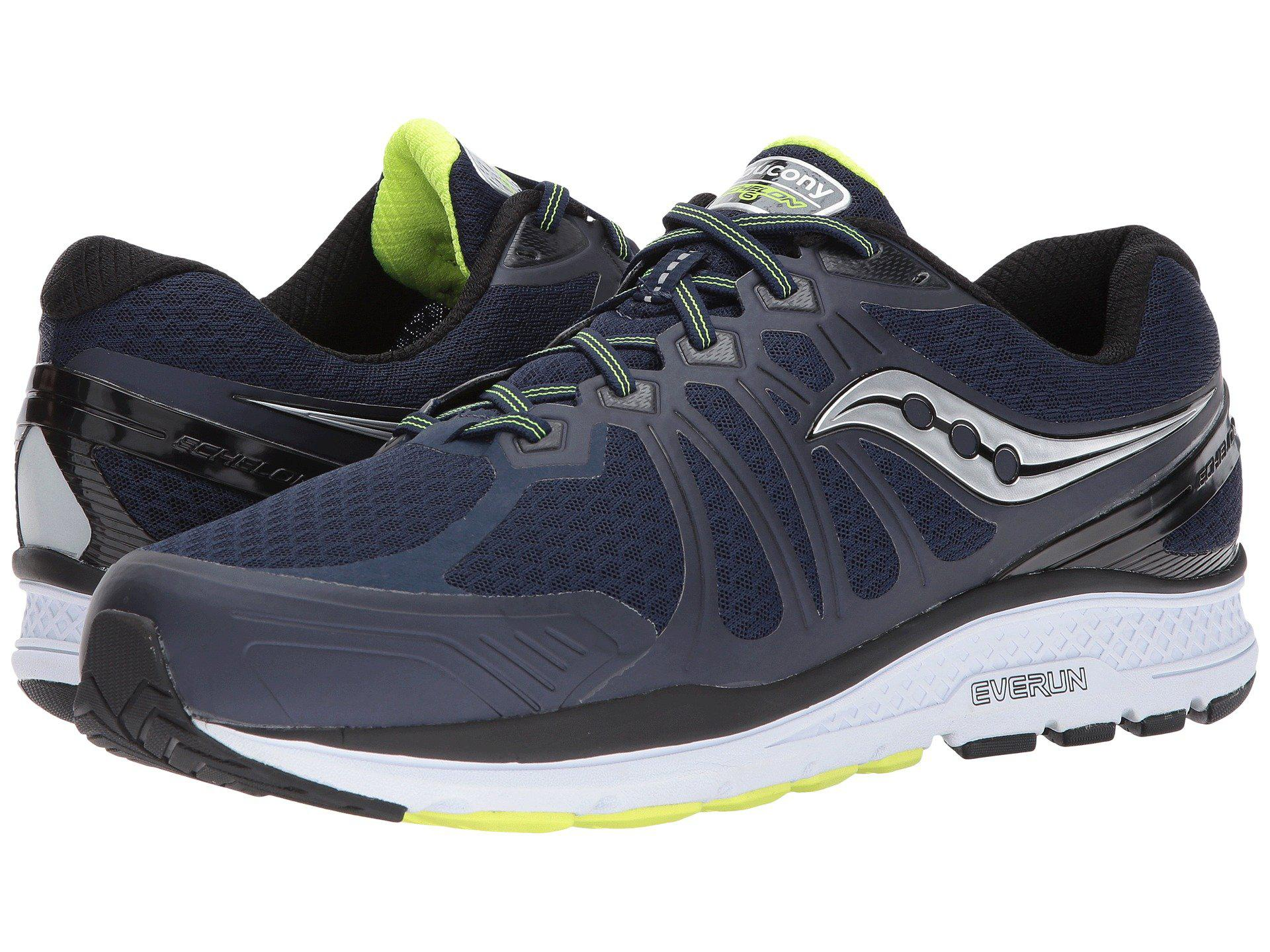 9f1dc0e4f0f9 Lyst - Saucony Echelon 6 (navy citron) Men s Running Shoes in Blue ...