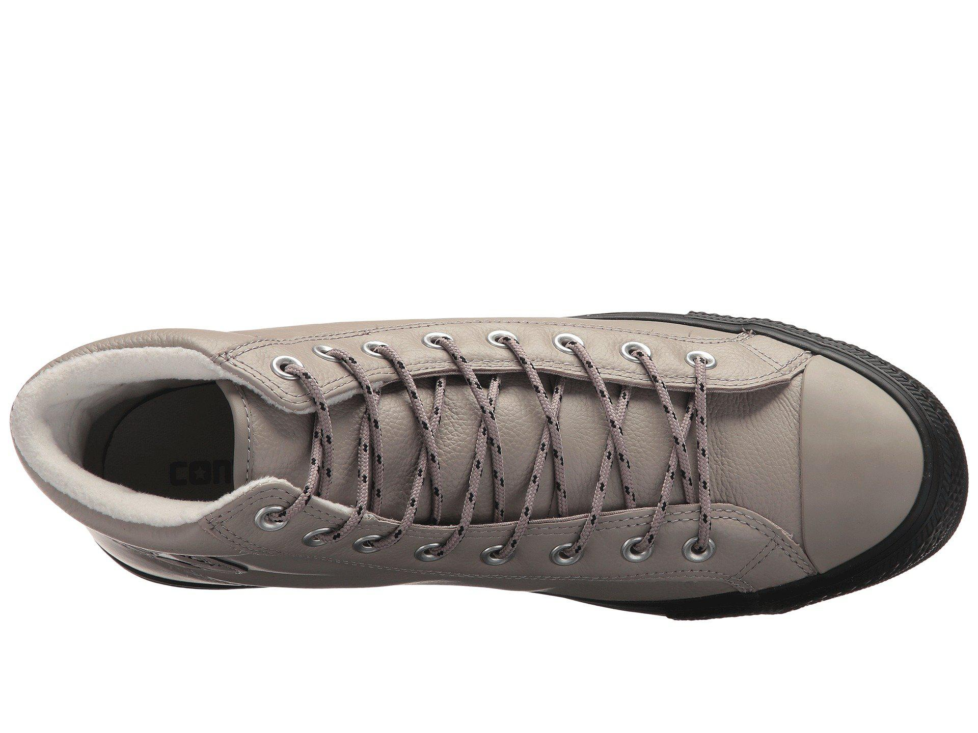 7554b15d7fa041 Lyst - Converse Chuck Taylor® All Star® Boot Pc Tumbled Leather Hi ...