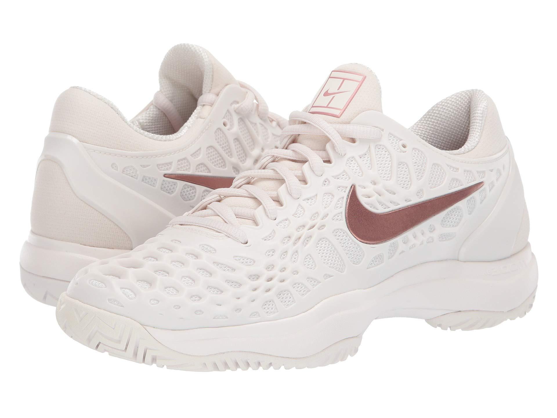 655fc2ad6d9f Nike. Zoom Cage 3 Hc (phantom metallic Rose Gold rose Gold) Women s Tennis  Shoes