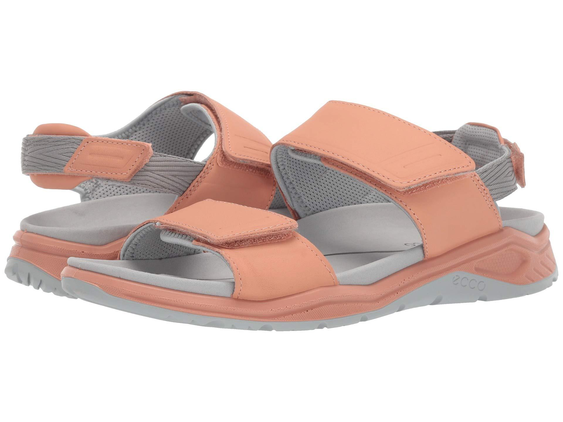 e194c32e74cadb Ecco. Blue X-trinsic Leather Sandal (muted Clay Cow Leather) Women s Sandals