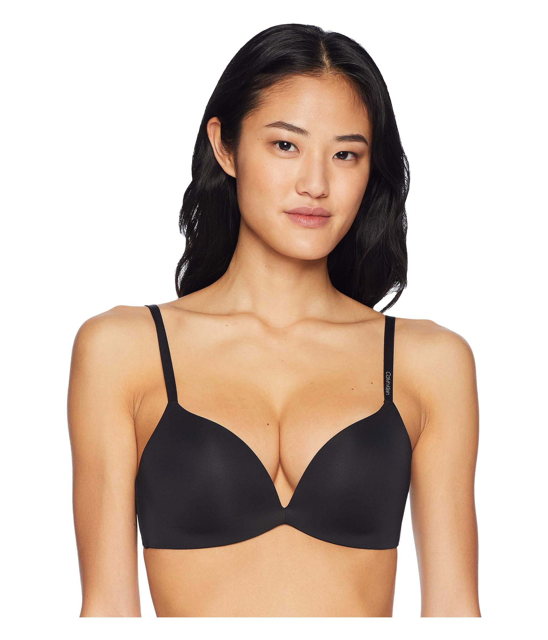 52f5f5abb33 Calvin Klein - Form Push-up Plunge Bra (black) Women s Bra - Lyst. View  fullscreen