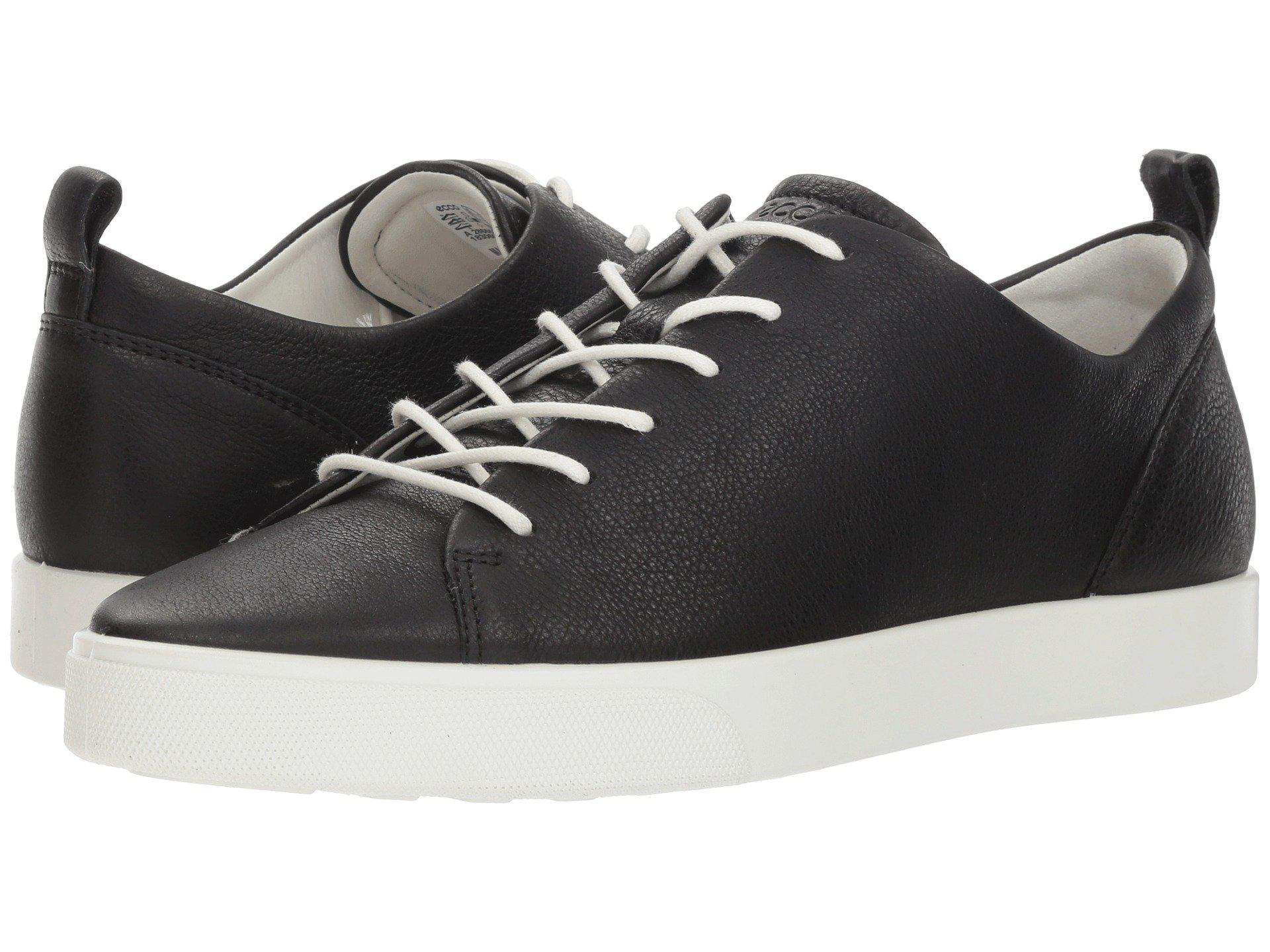 38d6a5569fc Ecco Gillian Tie (black Cow Leather) Women's Lace Up Casual Shoes in ...