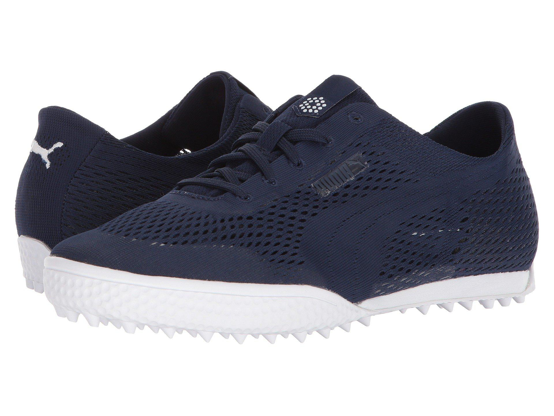 651332ce080 Lyst - PUMA Monolite Cat Woven (peacoat peacoat) Women s Golf Shoes ...