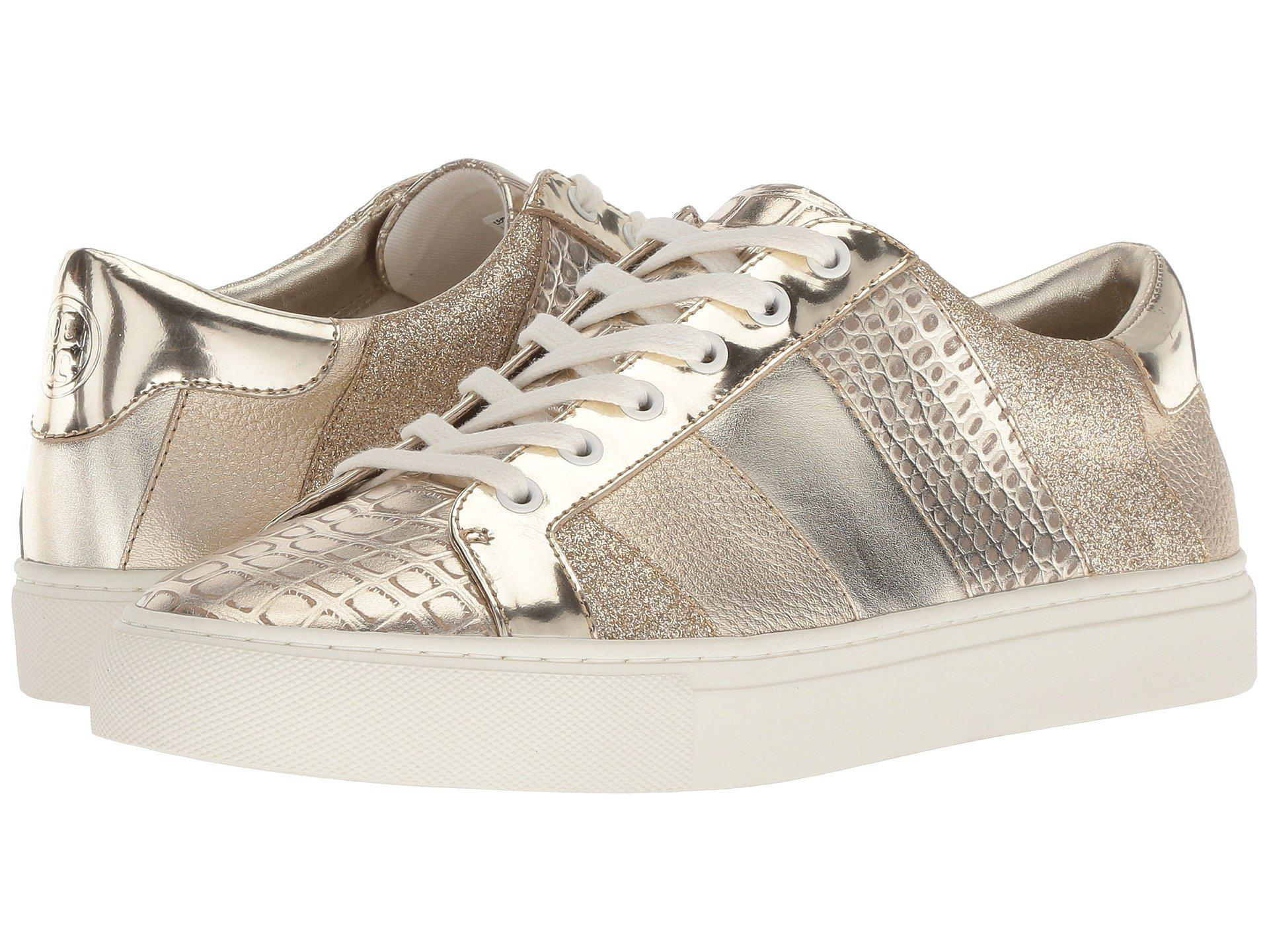 1e0abbaaa5fe Lyst - Tory Burch Ames Sneaker in Metallic