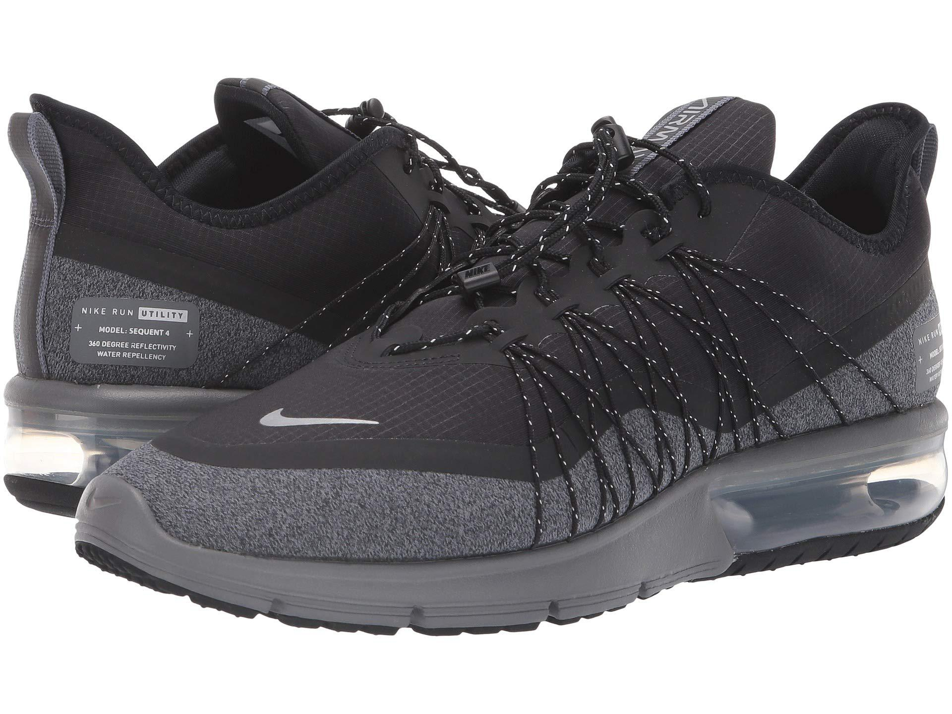 b3629e92b5 Nike Air Max Sequent 4 Shield (black/metallic Silver/dark Grey ...