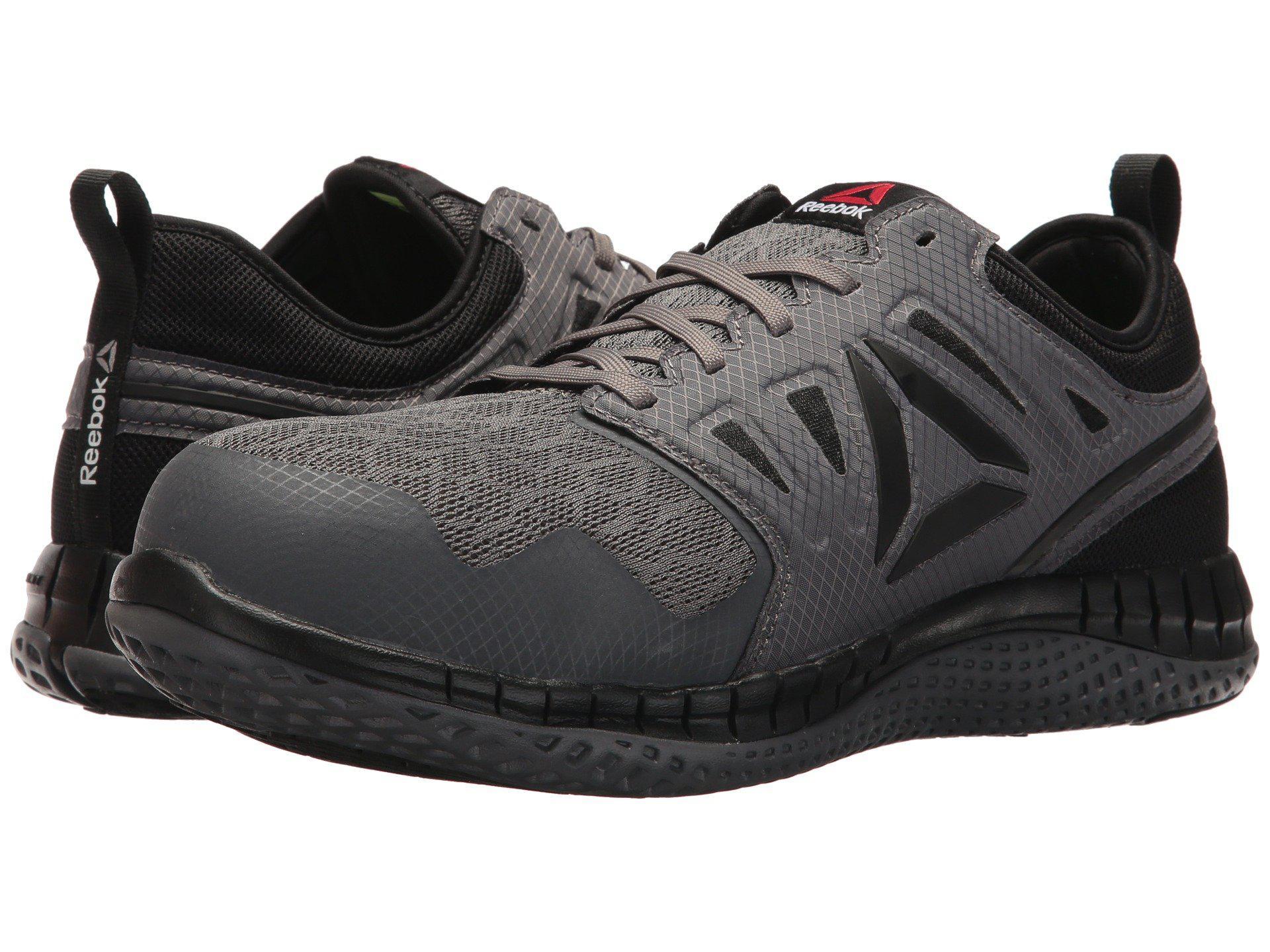 c2b6d58516fa Lyst - Reebok Zprint Work (navy red grey) Men s Shoes in Gray for Men