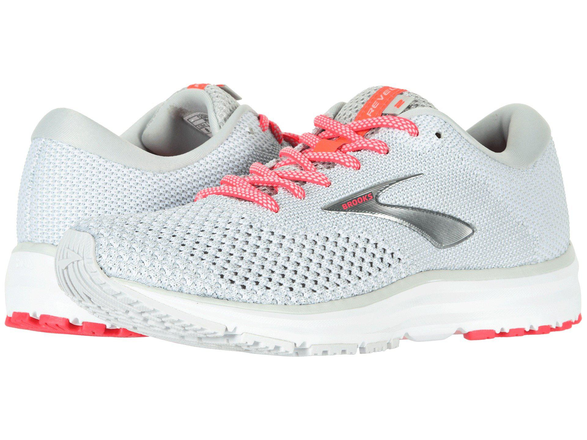 89eabf04723 Brooks - Multicolor Revel 2 (black light Grey coral) Women s Running Shoes.  View fullscreen
