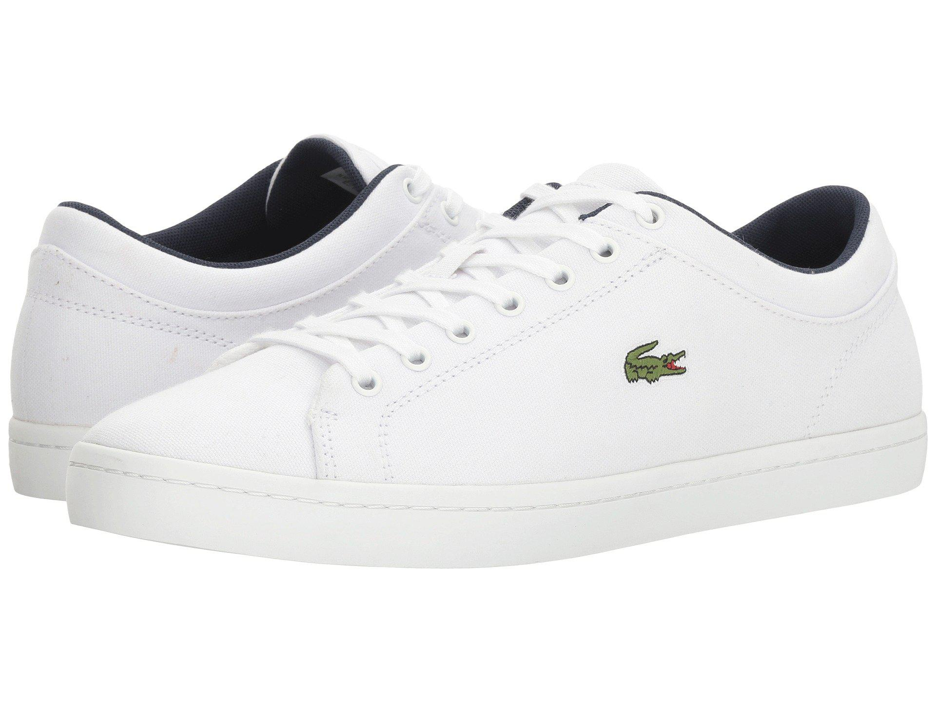 6c129c72a9883 Lyst - Lacoste Straightset Bl 2 (navy) Men s Shoes in White for Men