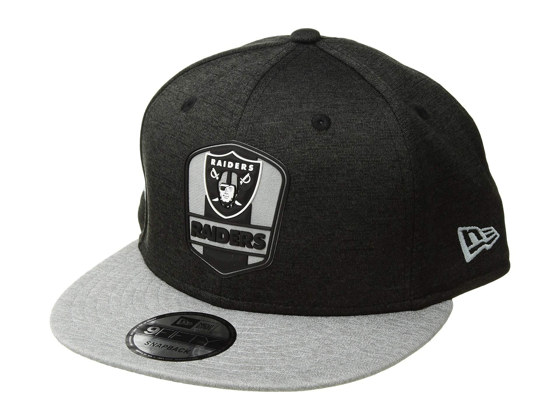 36e43b42eed Lyst - Ktz 9fifty Official Sideline Away Snapback - Oakland Raiders ...