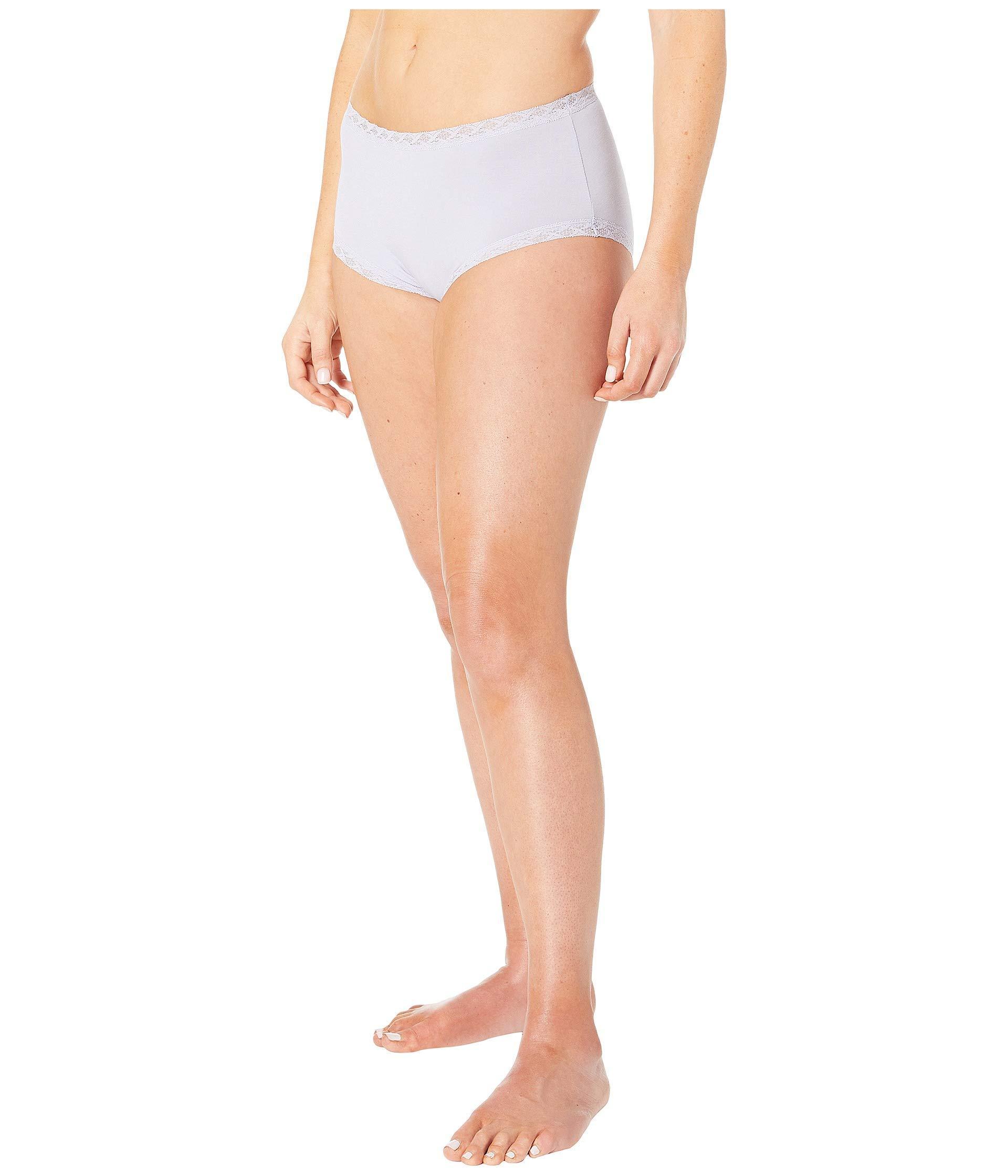 d44ab7753fb1 Natori - Bliss Cotton Full Brief (blushing Pink) Women's Underwear - Lyst.  View fullscreen