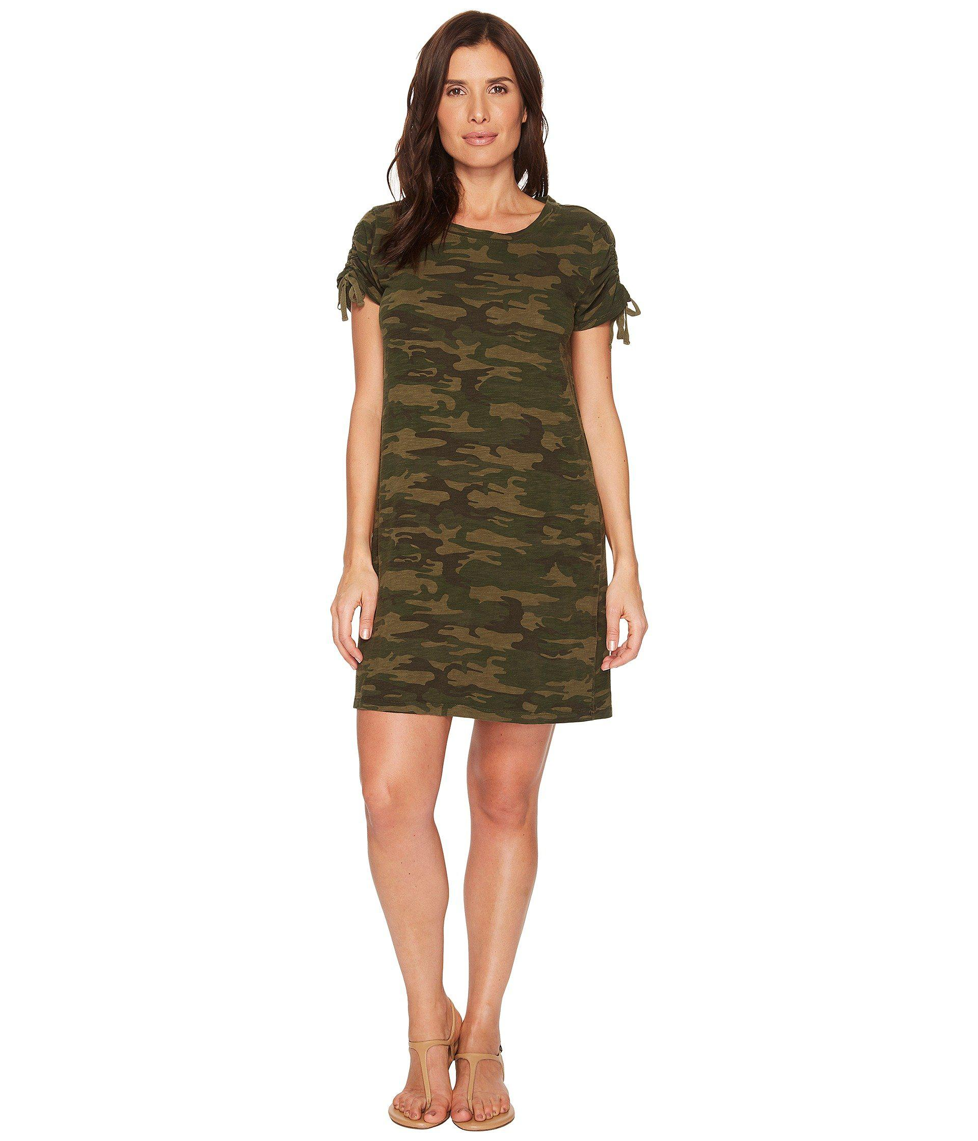 ace2b86af12 Lyst - Sanctuary Ojai Camo T-shirt Dress (mother Nature Camo ...