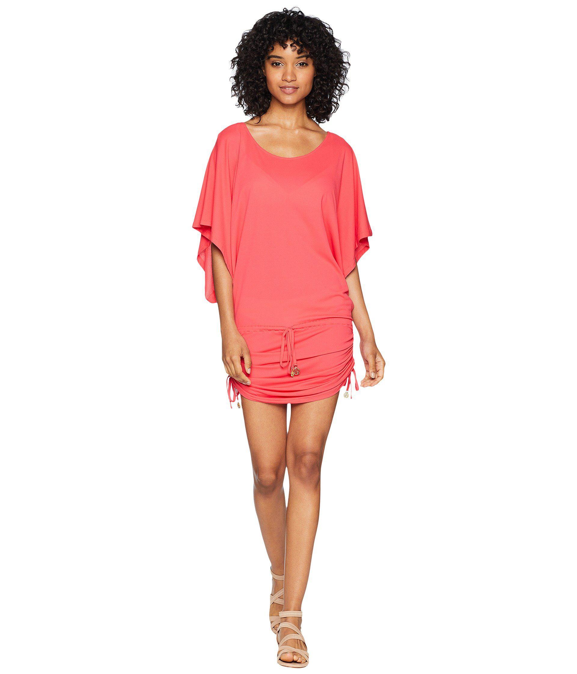 edd59bf9b97c5 Lyst - Luli Fama Cosita Buena South Beach Dress Cover-up (black ...