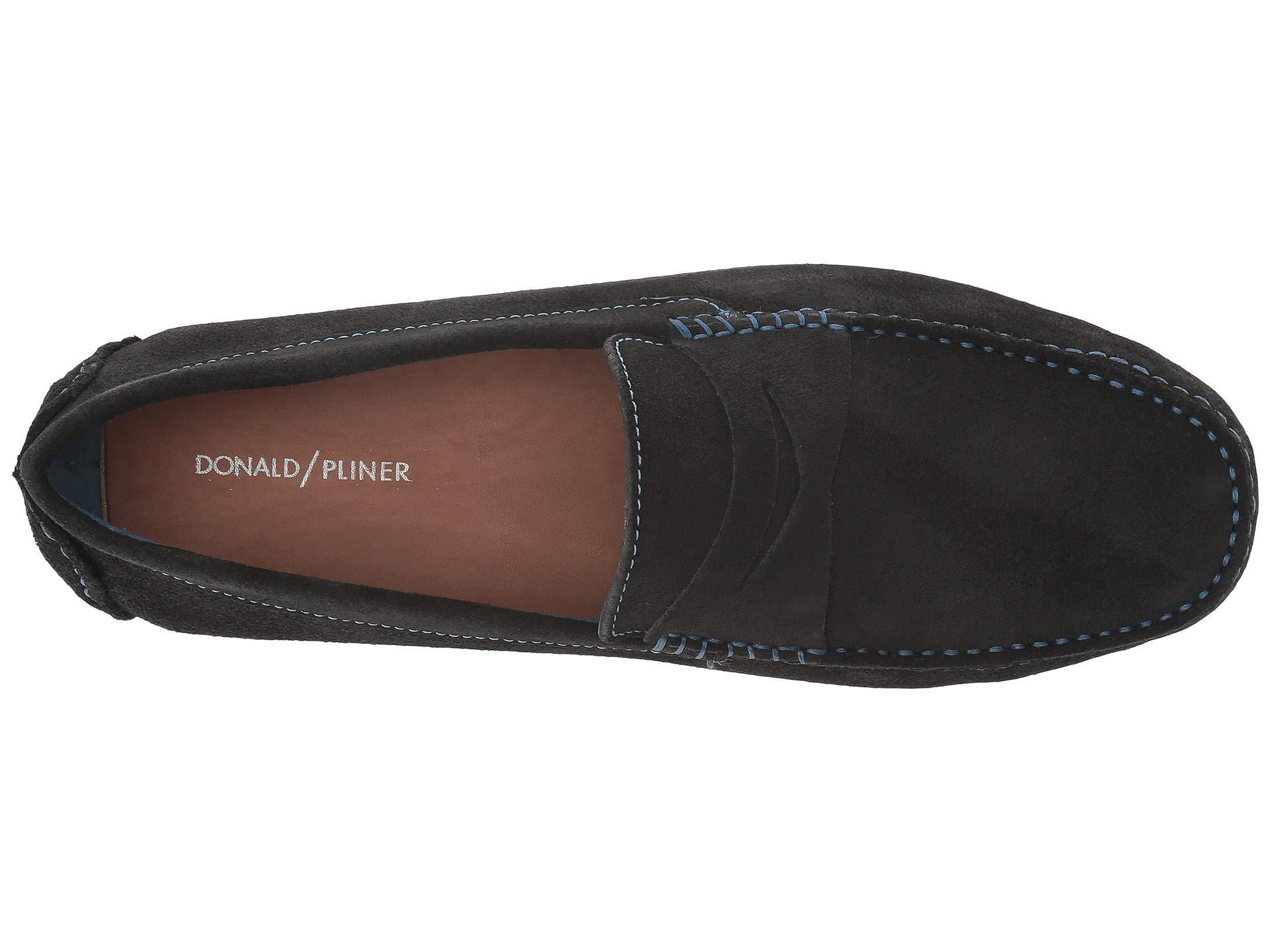 82401a9d1fb Donald J Pliner - Black Varran 2 (dark Gray Oily Suede) Men s Shoes for.  View fullscreen