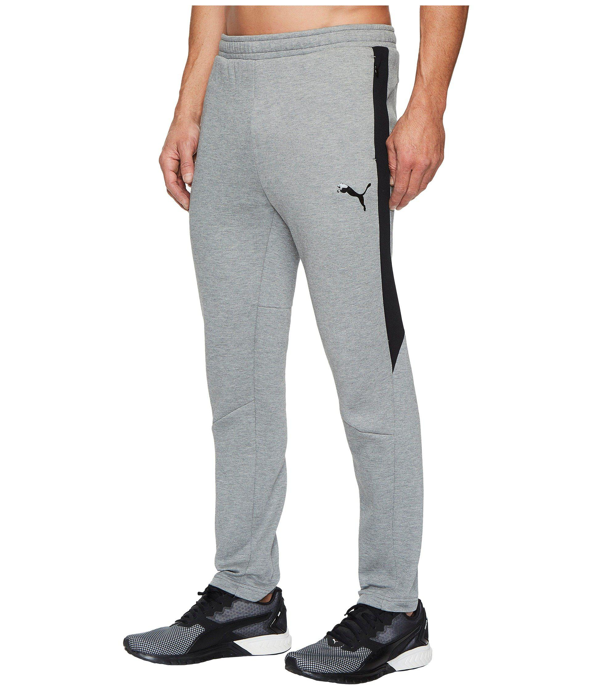 37a31fe43 Fitness Clothing & Accessories Grey Puma Evostripe Move Mens Joggers