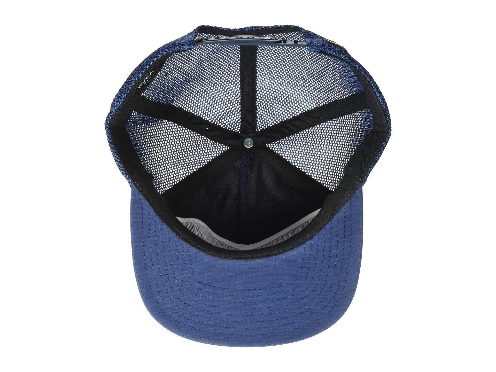 RVCA - Blue Va All The Way Trucker (dark Navy) Caps for Men -. View  fullscreen ed451a1ec92f