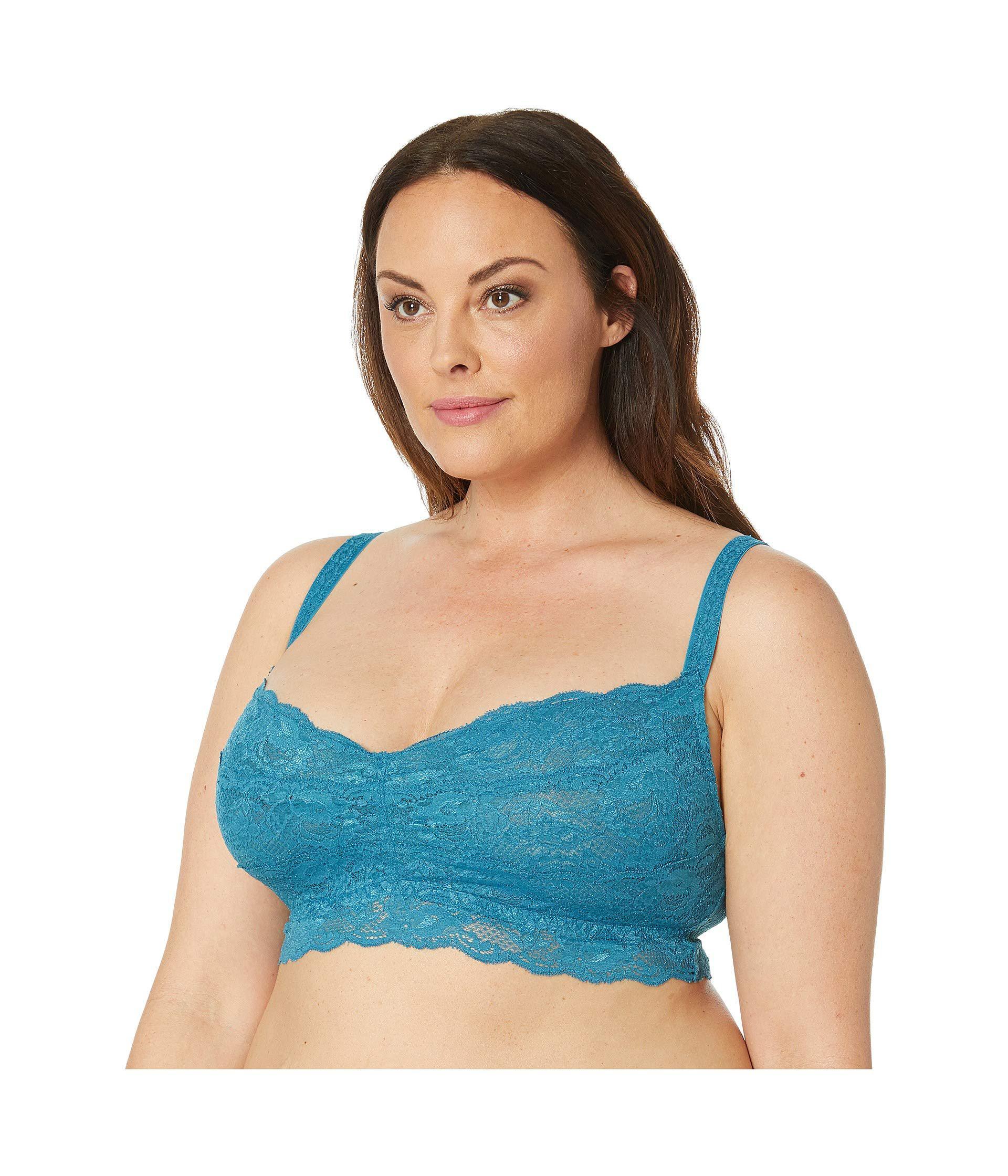 9da11e21e605b Lyst - Cosabella Plus Size Never Say Never Sweetie Soft Bra Never1301p  (tourmaline) Women s Bra in Blue