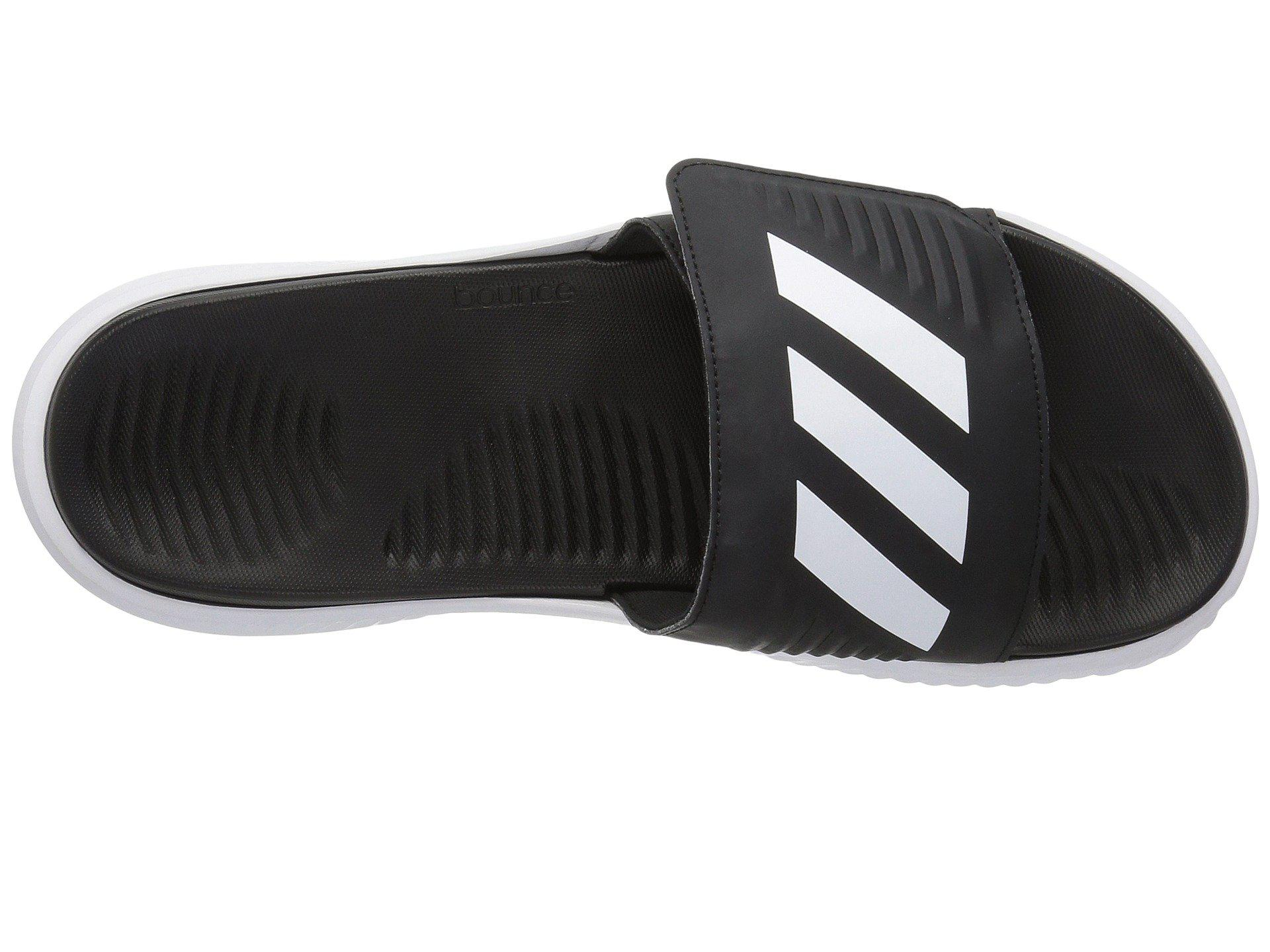 3d053eb0c28 Adidas - Alphabounce Slide (footwear White core Black) Men s Slide Shoes  for Men. View fullscreen
