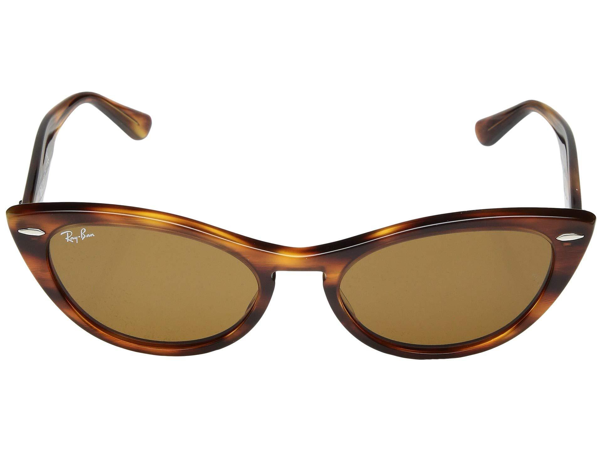 6aace9245b7df Ray-Ban - Brown Rb4314n 54 Mm. (black green) Fashion Sunglasses. View  fullscreen