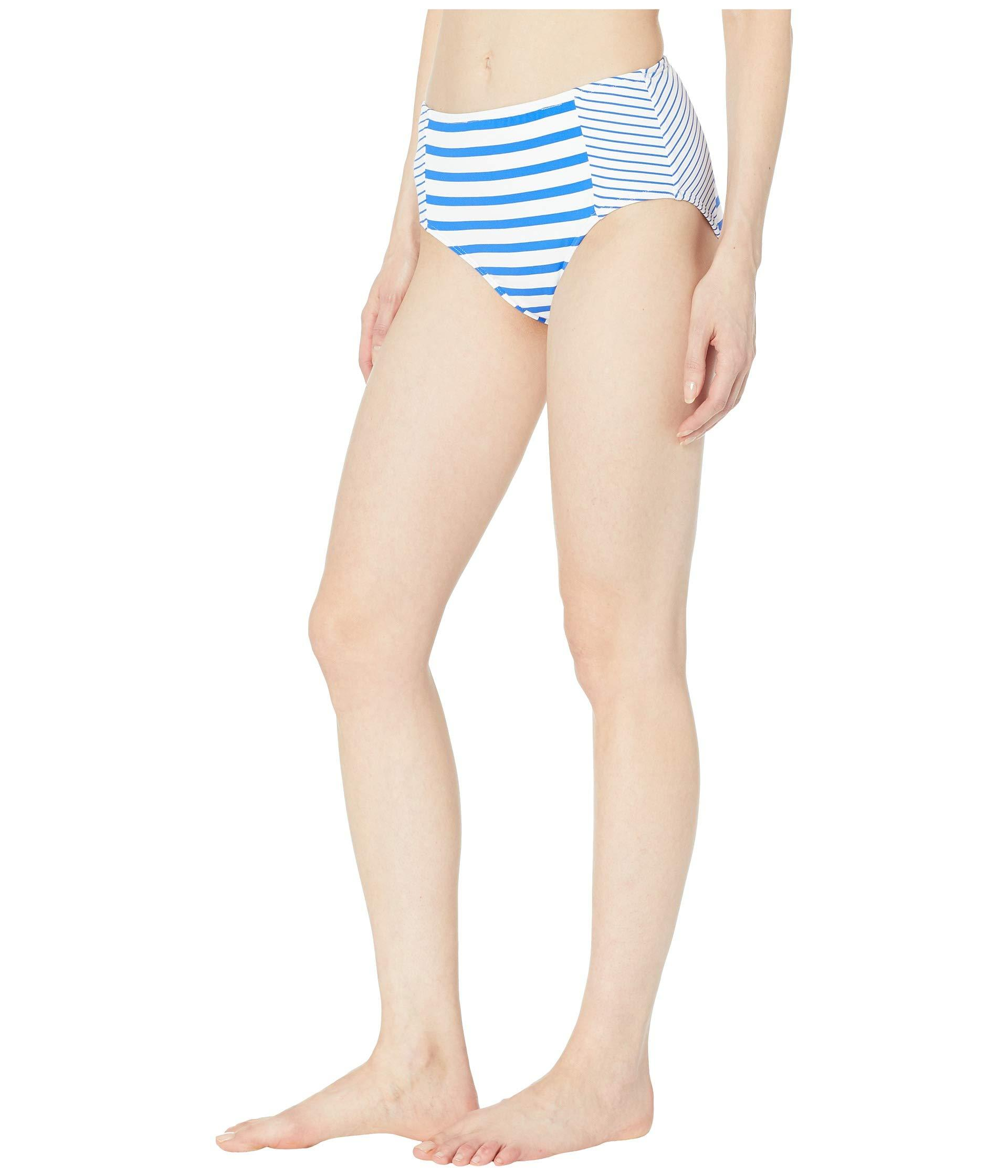 b13885d344 Lyst - Tommy Bahama Beach Glass Stripe High-waisted Bottoms (beach Glass  Blue) Women's Swimwear in Blue