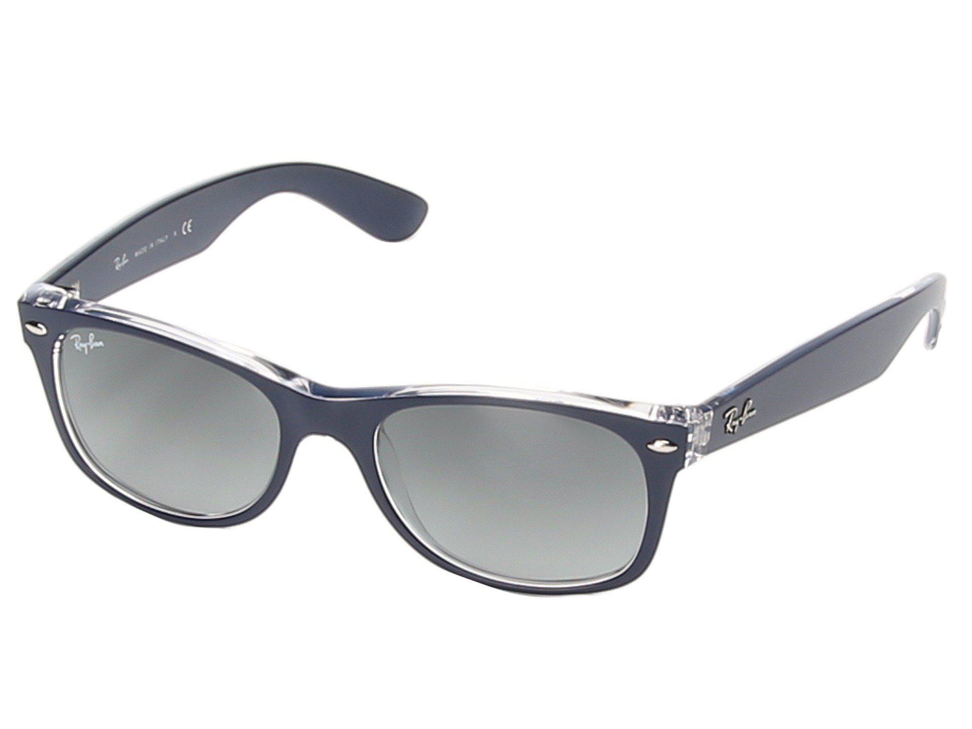 0a4a04d05a Ray-Ban. Men s Blue Rb2132 New Wayfarer 52mm (matte Bordeaux) Sport  Sunglasses