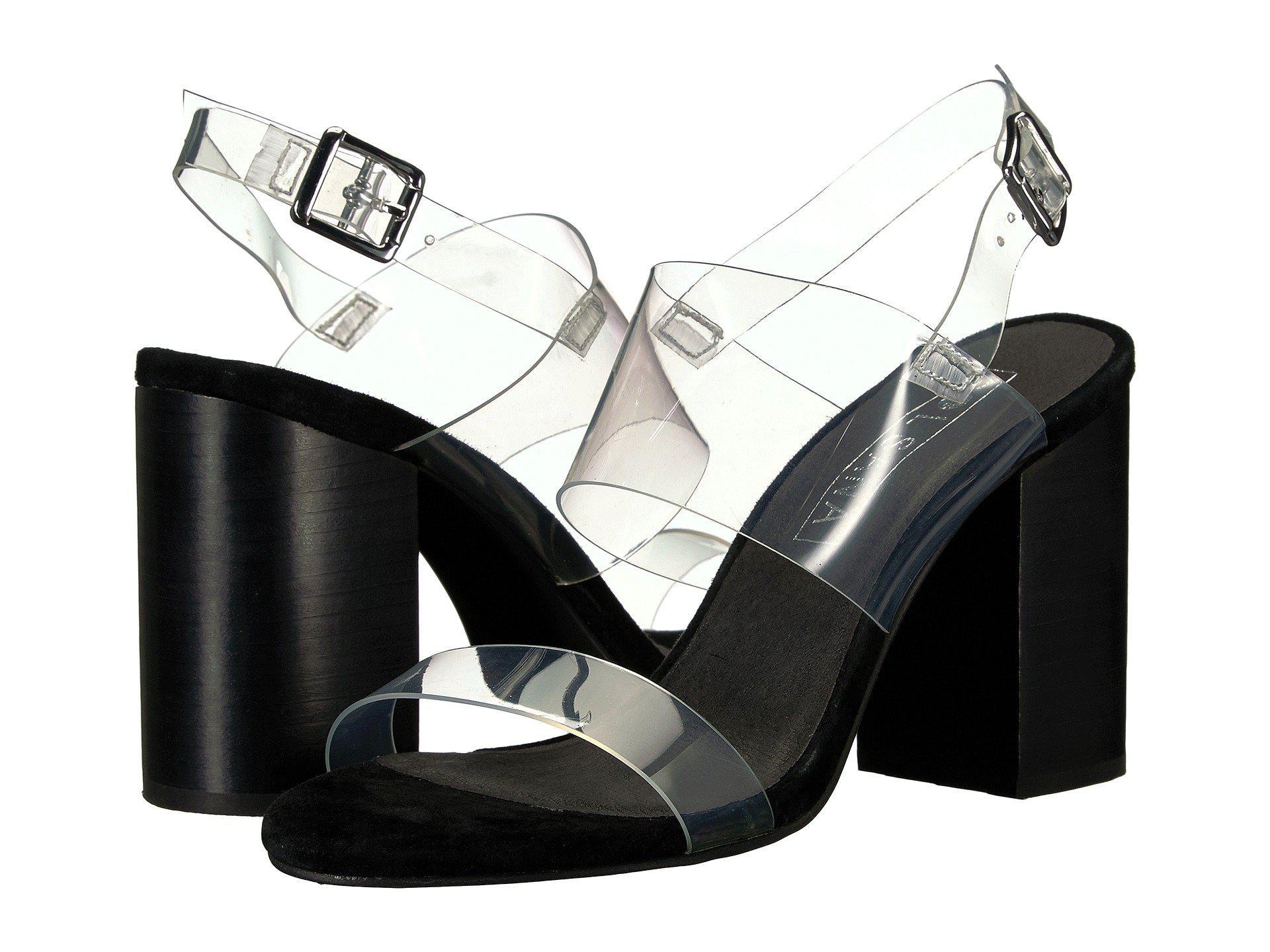Sol Sana Tucker Black Strap Block Heeled Shoes Low Price Great Deals Pick A Best Online k4HSLrvT