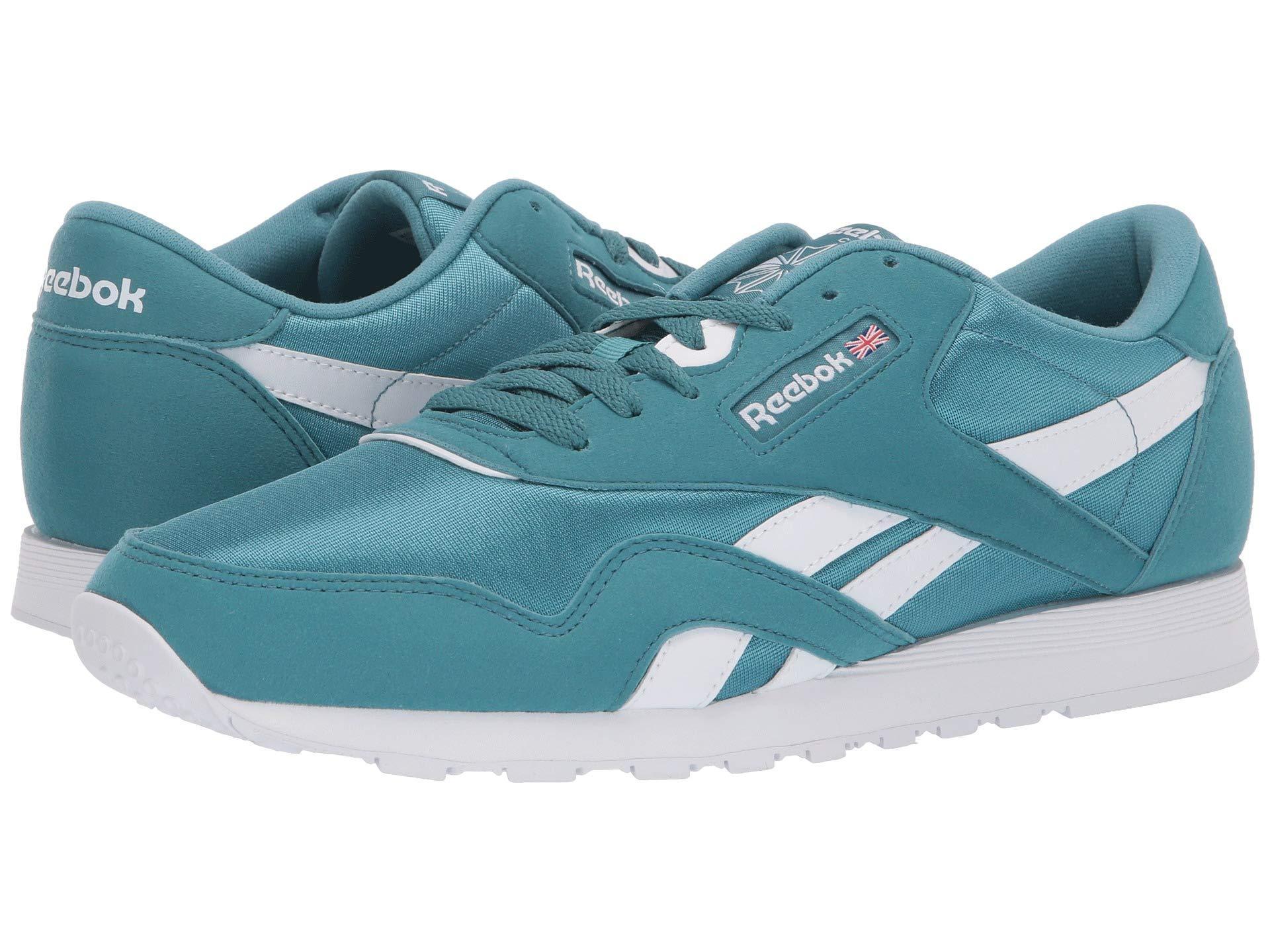 fae55ed6f9c854 Reebok - Blue Classic Nylon Color (crushed Cobalt white) Men s Shoes for  Men. View fullscreen
