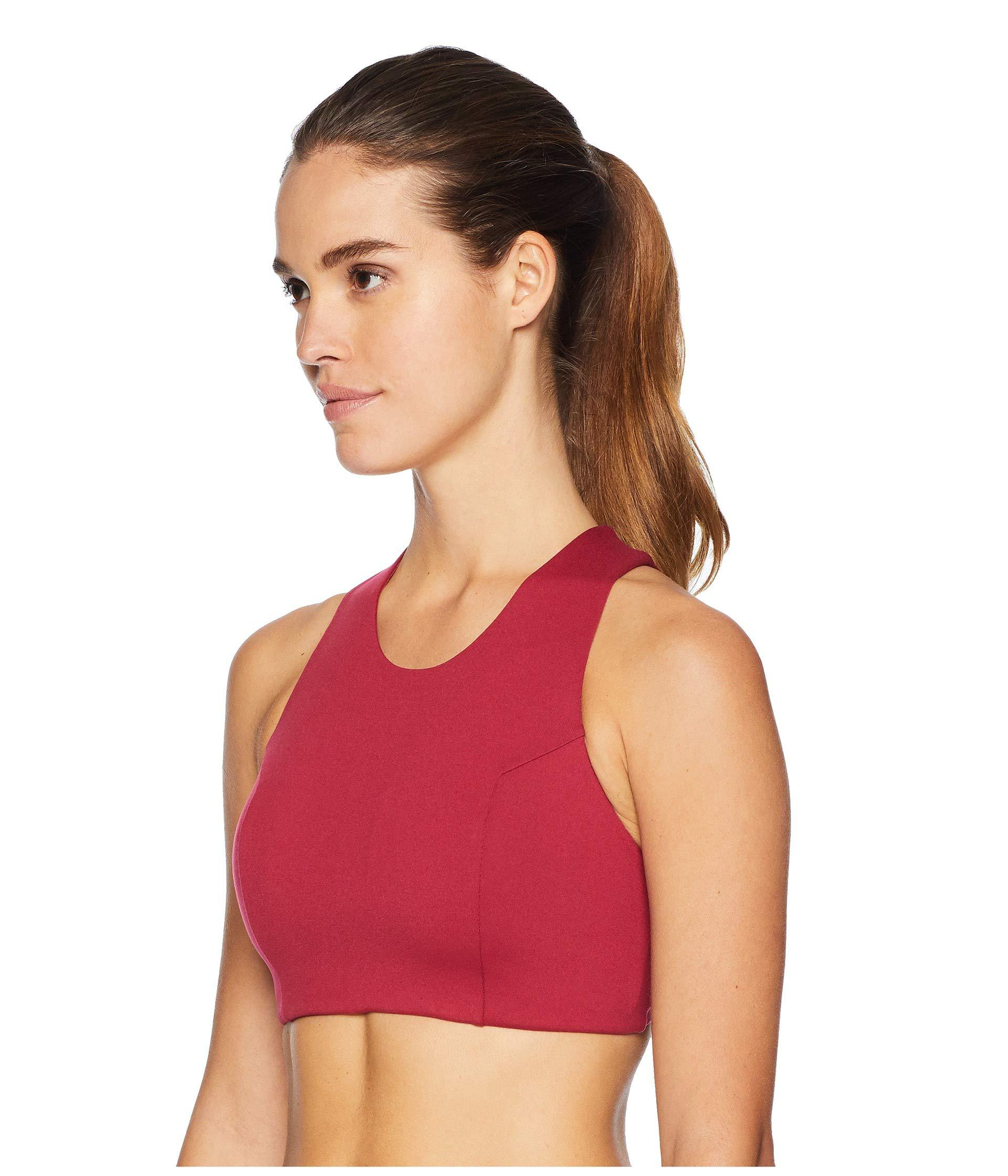 8c43ce839a Lyst - The North Face Beyond The Wall Free Motion Bra (rumba Red) Women s  Bra in Red