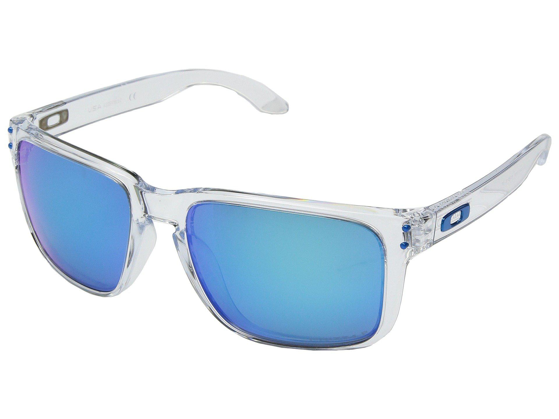 985a4d527f Oakley. Women s Blue Holbrook Xl Sgh Exclusive (polished Clear W  Prizm  Sapphire Polarized) Athletic Performance Sport Sunglasses