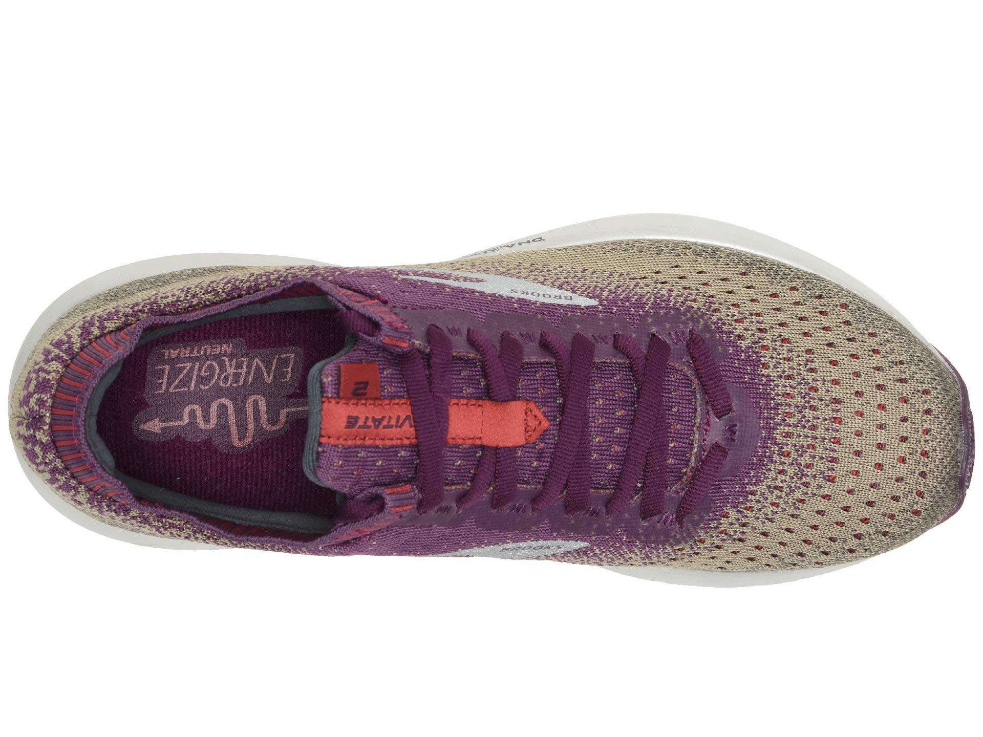 5aa66d0c1 Lyst - Brooks Levitate 2 (green white red (holiday Edition)) Women s ...