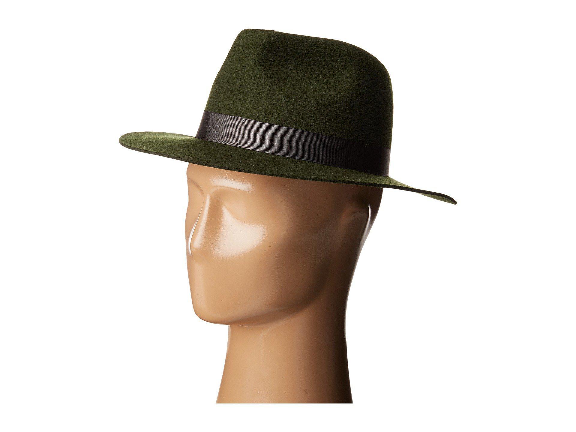 cf1299940e9d3 Lyst - Lack of Color Silent Woods Wool Felt Fedora in Green for Men