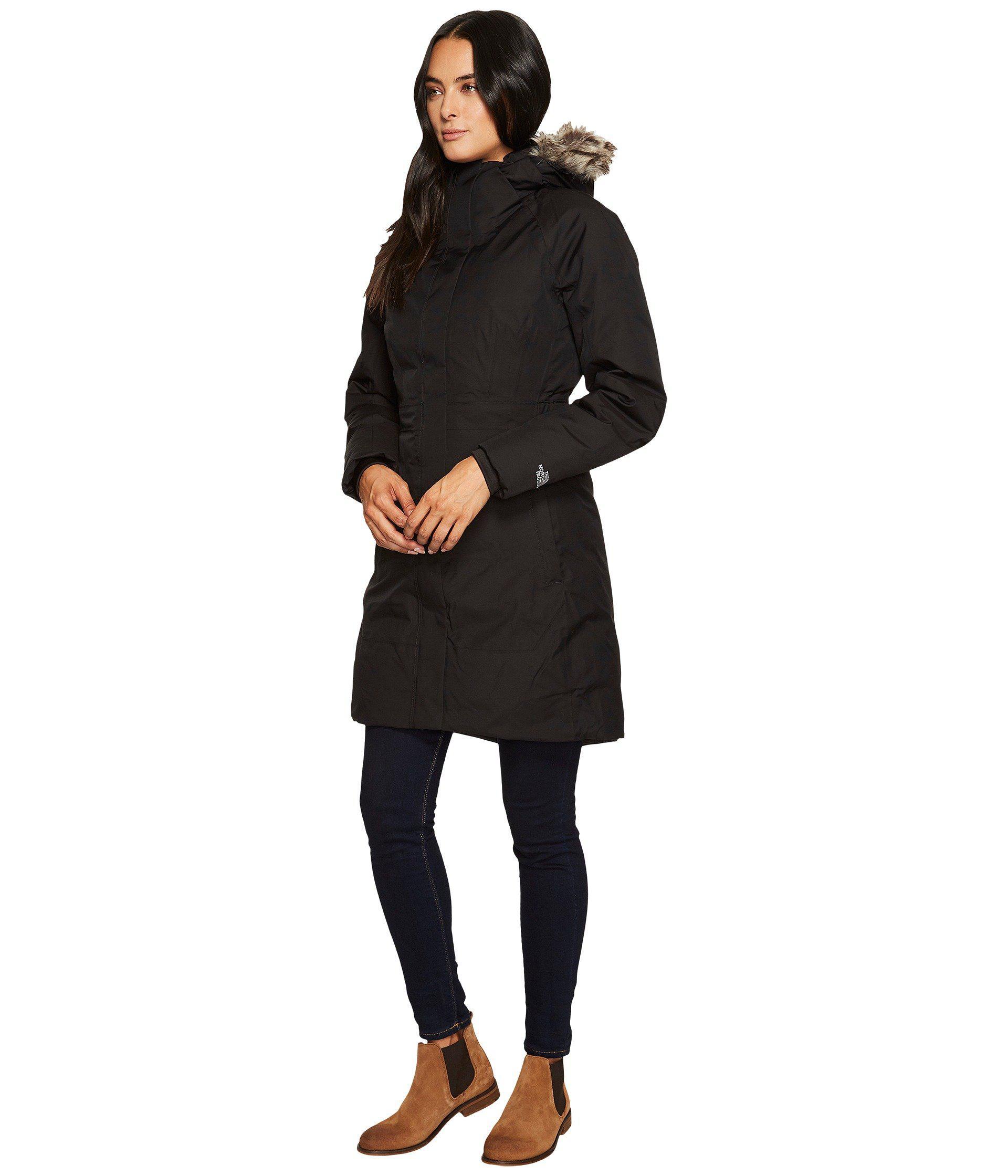 cec63950 The North Face Arctic Parka Ii (tnf Black) Women's Coat in Black - Lyst