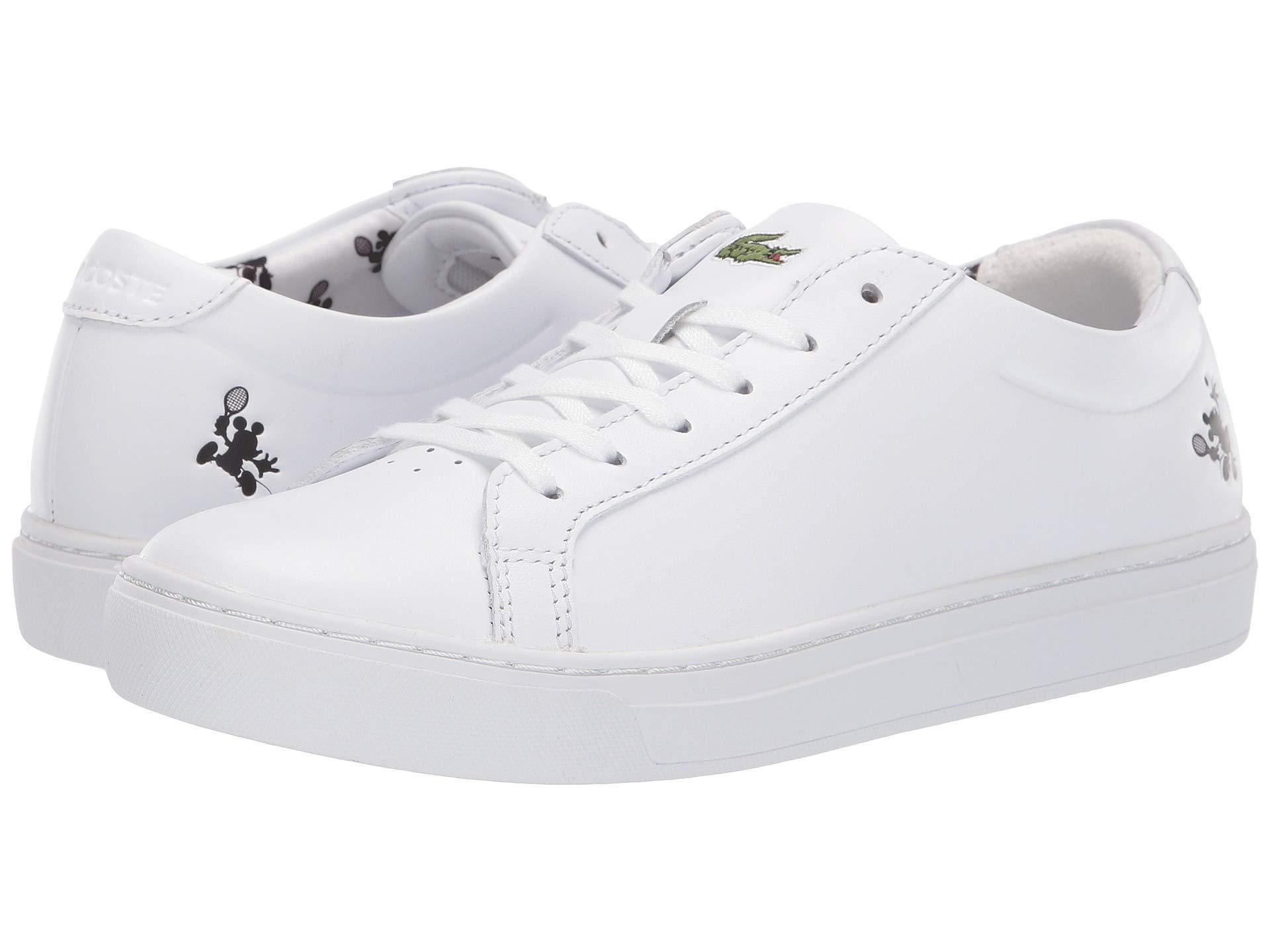 9c34075bd745 Lyst - Lacoste L.12.12 418 1 Disney (white) Women s Shoes in White