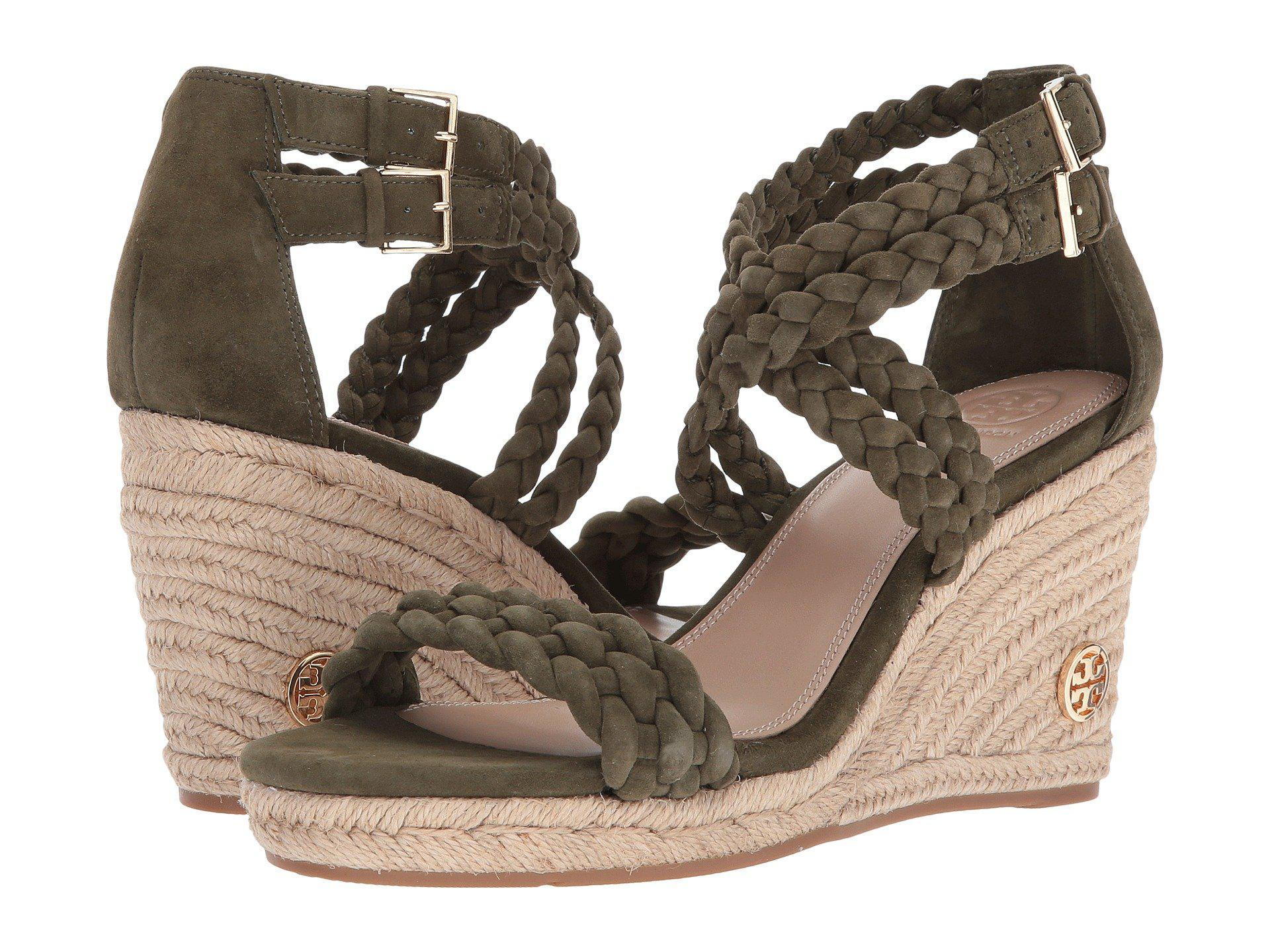6abe66e5418 Lyst - Tory Burch Bailey 90mm Ankle Strap