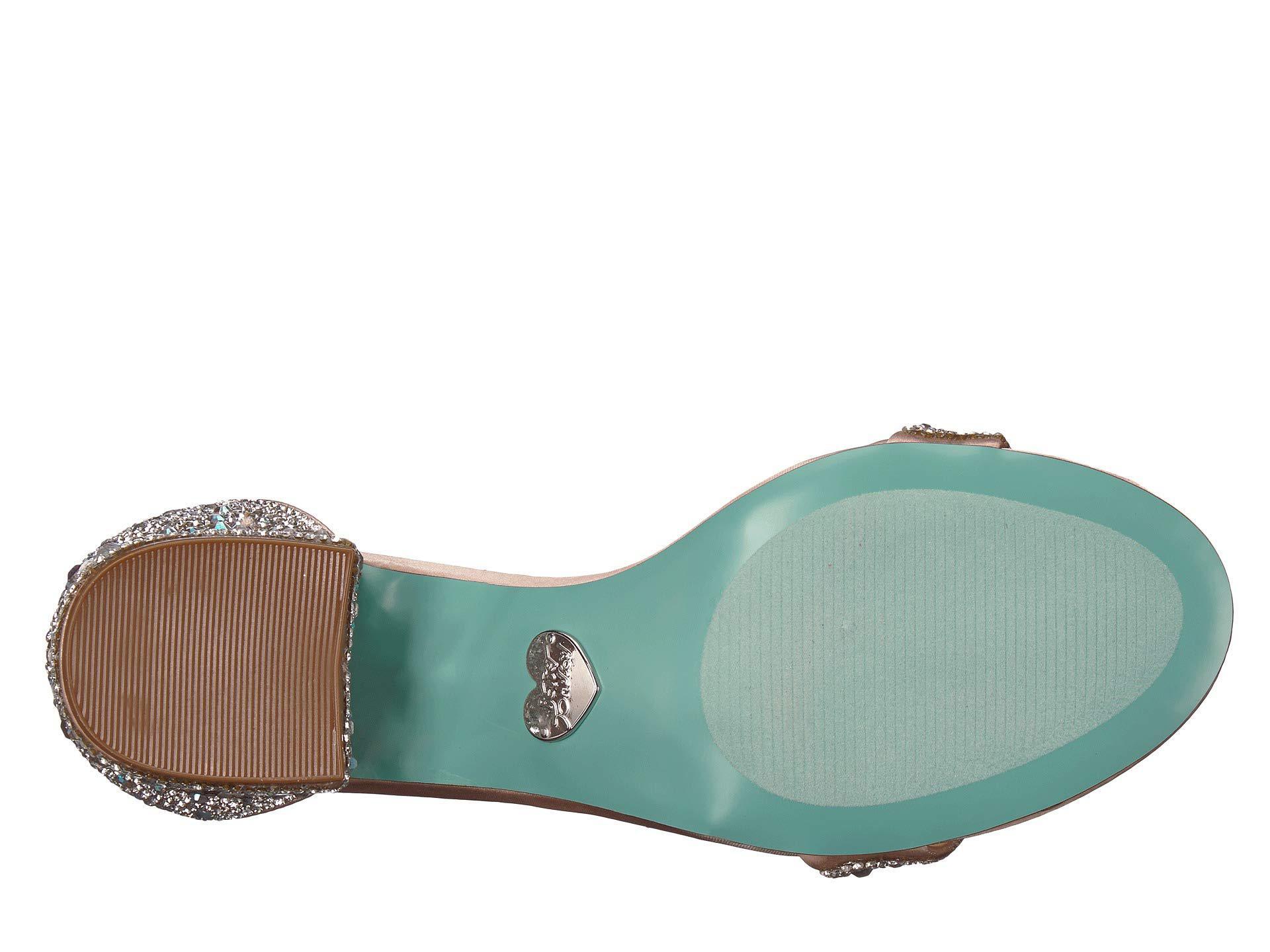 bb6931289b1 Betsey Johnson - Multicolor Mari Heeled Sandal (black) Women s Shoes -  Lyst. View fullscreen