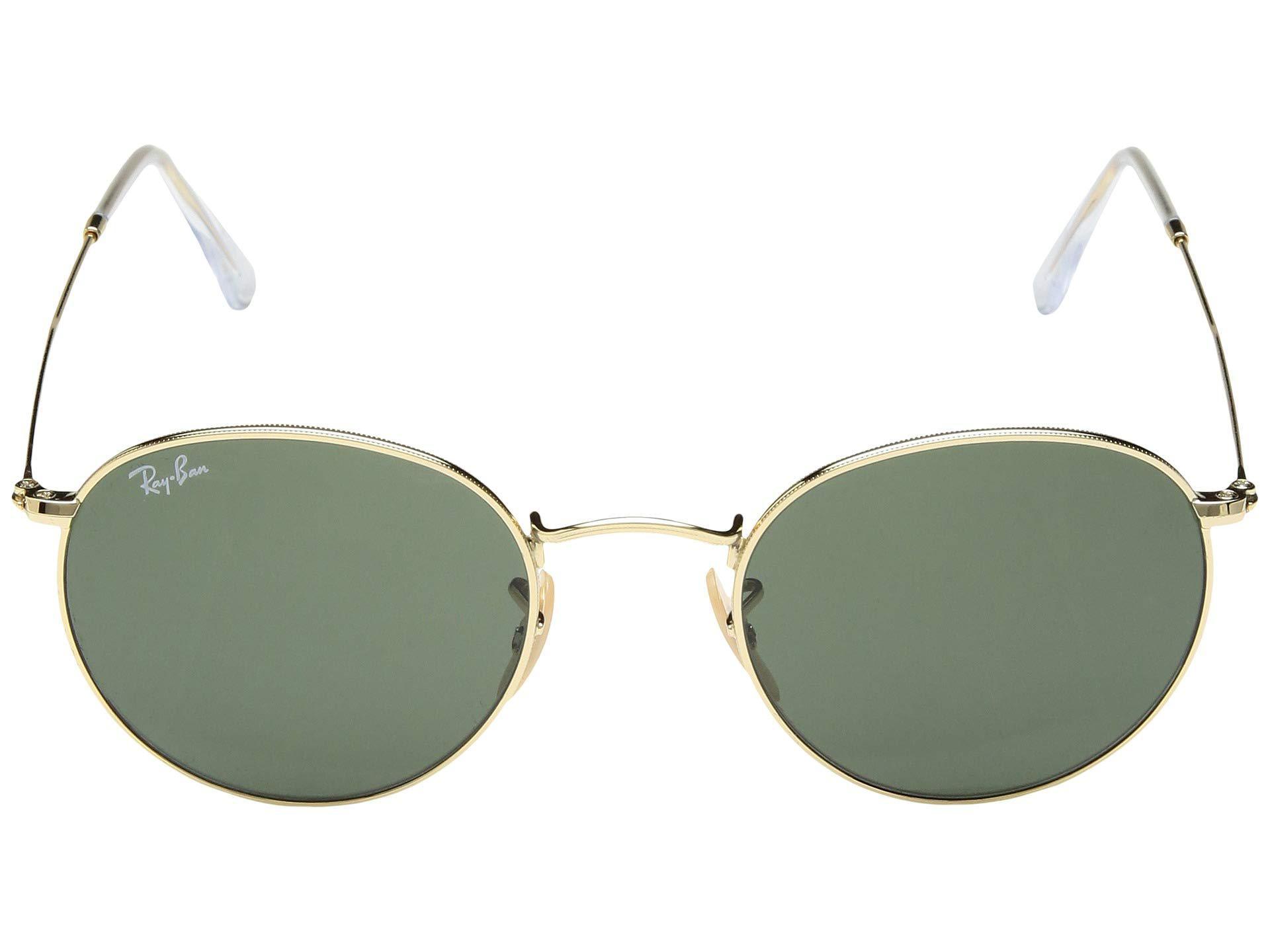 5b392778bc Ray-Ban - Multicolor 0rb3447 Round Metal 50mm (gold green) Fashion  Sunglasses. View fullscreen