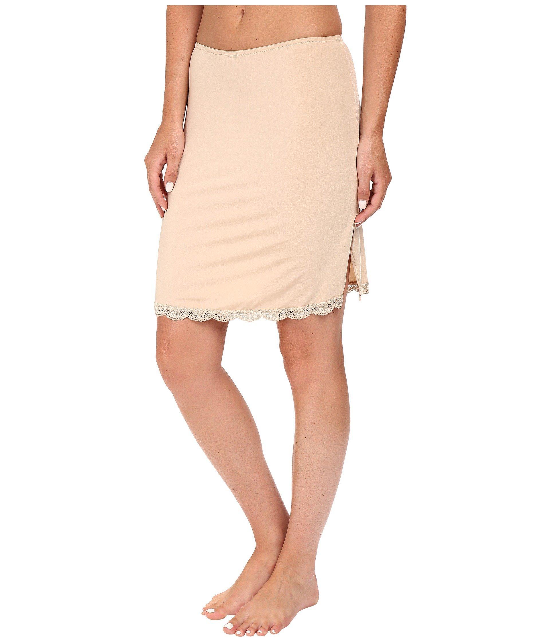 1c831ee443c3 Jockey No Panty Line Promise Tactel Lace Half Slip (sheer Nude) Women's  Underwear - Lyst