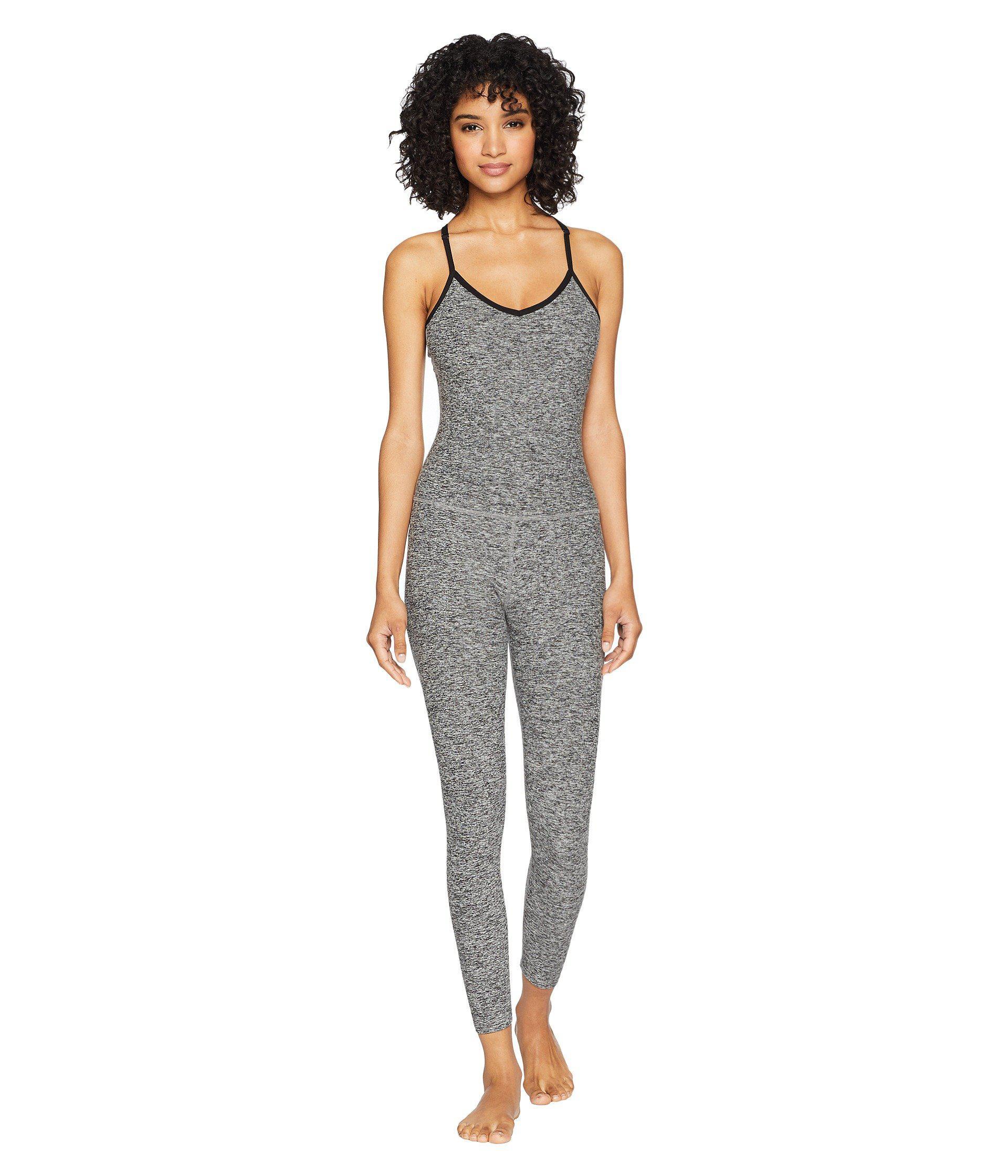 7a5936e3385 Beyond Yoga. Spacedye Elevation Capris Bodysuit (black white) Women s  Jumpsuit   Rompers One Piece