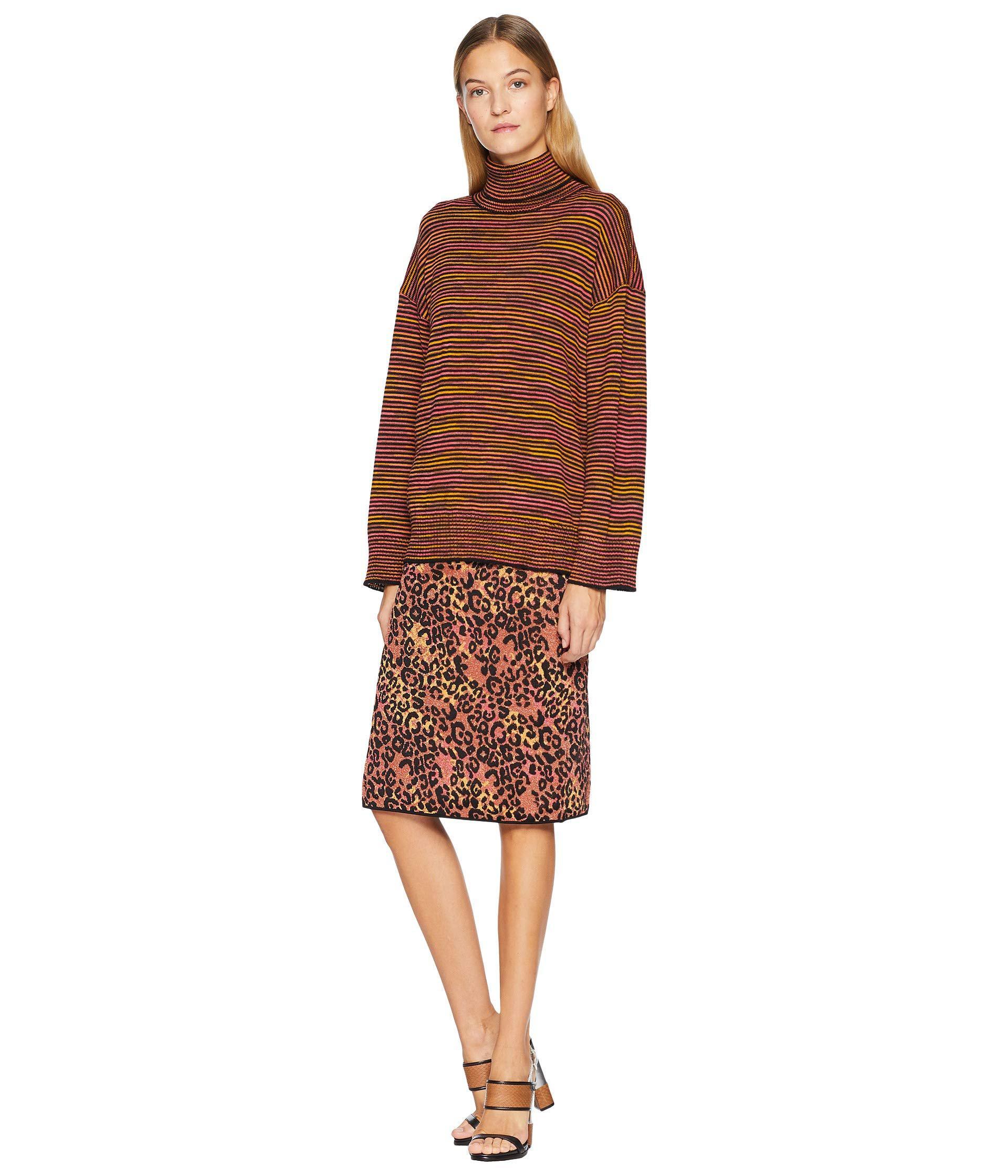 23eff883499ffc M Missoni - Animal Lurex Skirt (brown) Women s Skirt - Lyst. View fullscreen