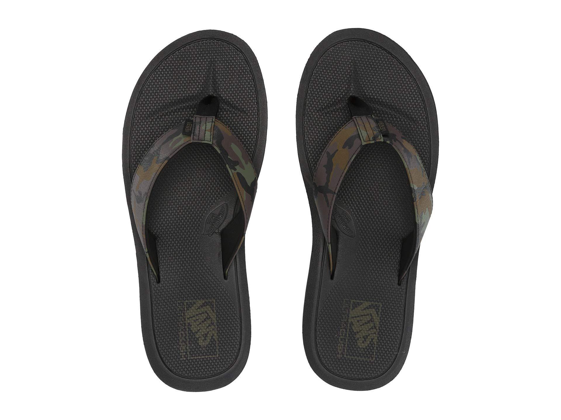 8b05f1bccf7c Lyst - Vans Nexpa Synthetic (black black pewter) Men s Sandals in ...