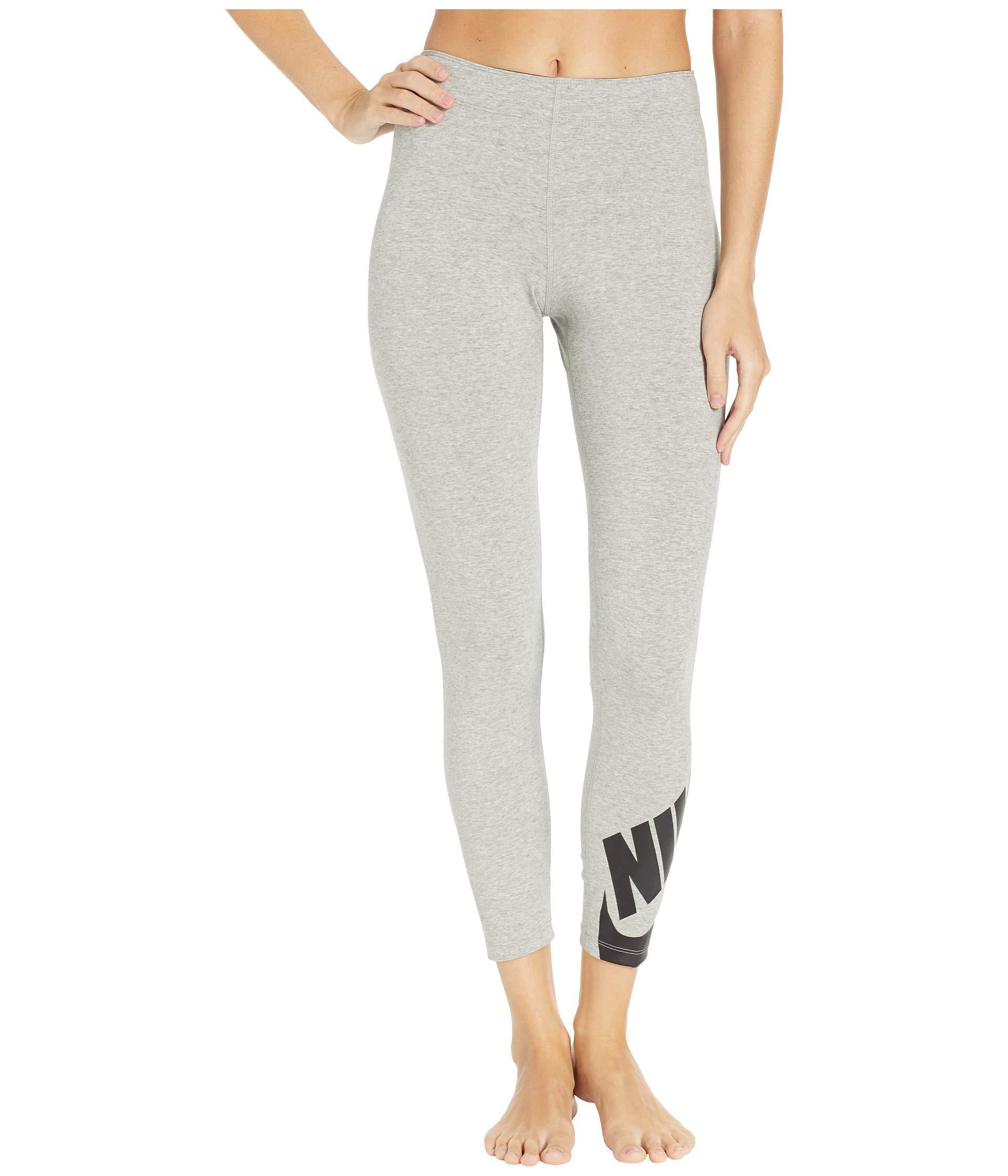 huge selection of 3b414 fd7ee Nike. Gray Sportswear Legasee Leggings 7 8 Futura ...
