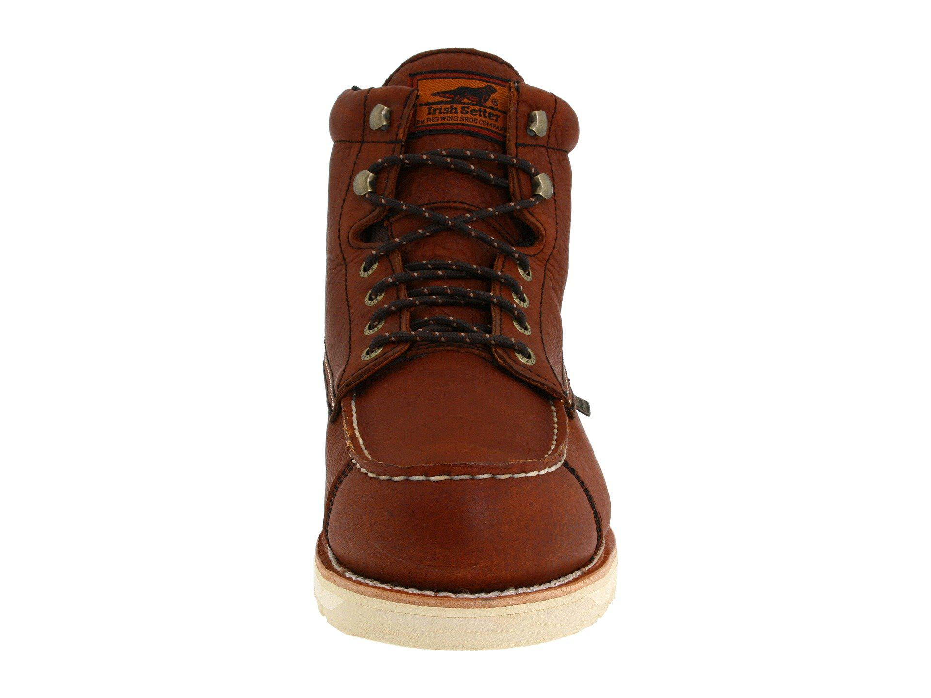 01285a29f5d Lyst - Irish Setter Wingshooter Waterproof 6 838 (amber Leather ...