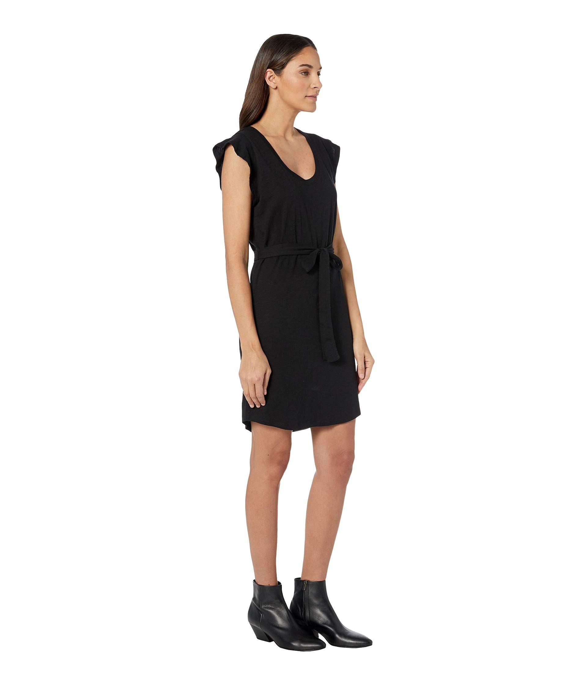 61e226d4cb03a Lyst - Sanctuary Ruby Flutter Sleeve Scoop T-shirt Dress (washed ...