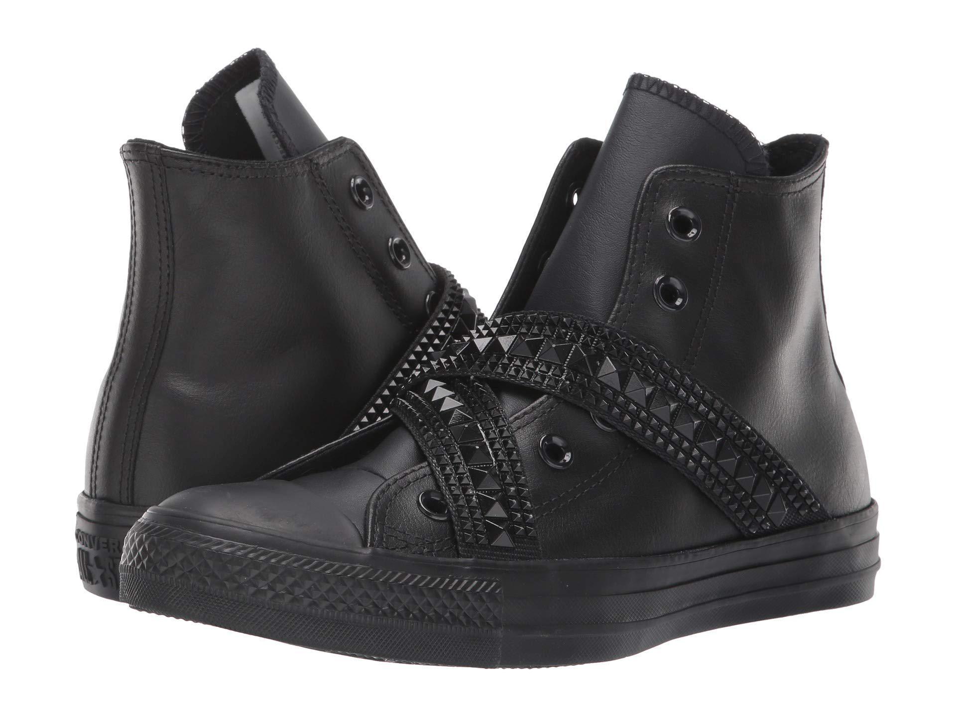 57f40eedf1f Lyst - Converse Chuck Taylor All Star Punk Strap - Hi (black black ...