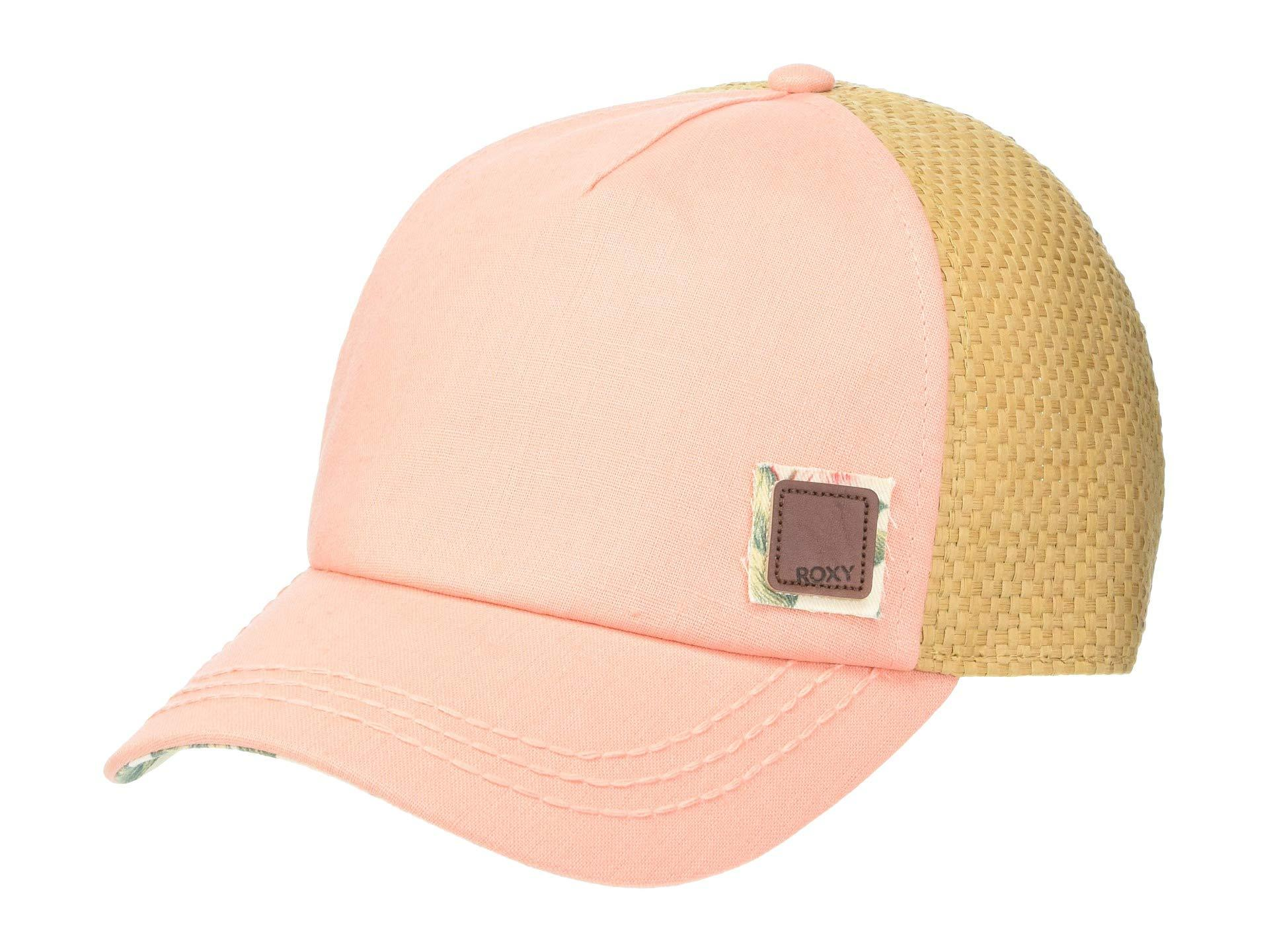 174e0efaf86a2 Lyst - Roxy Incognito Trucker Hat (marshmallow Vichy) Caps