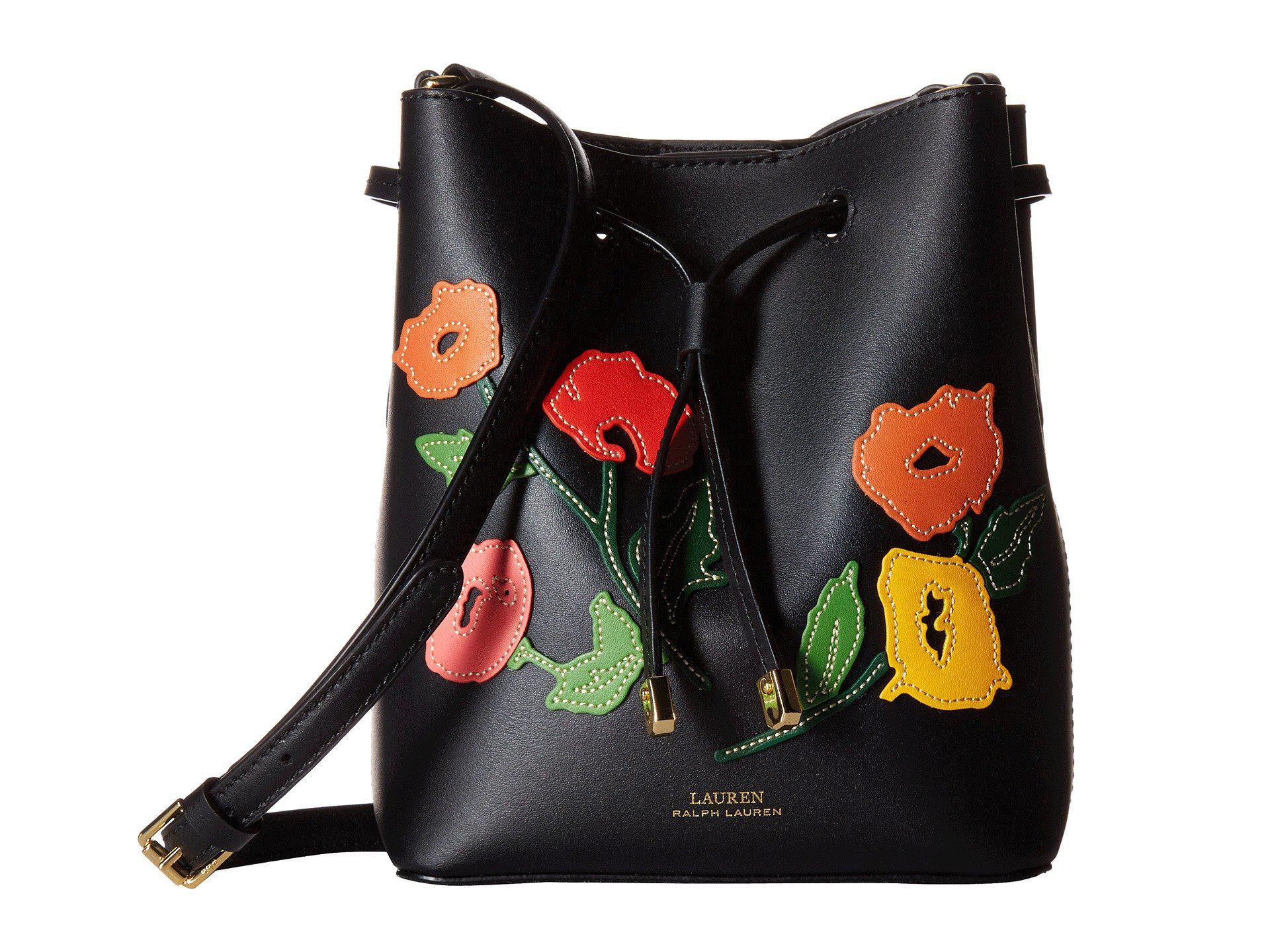2866322c40 Lyst - Lauren by Ralph Lauren Dryden Debby Ii Mini Drawstring in Black