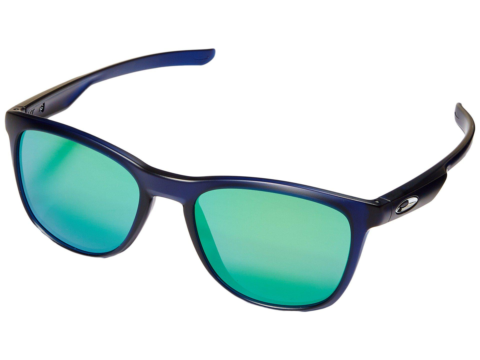 e0a65cc944f Oakley. Women s Blue Trillbe X (matte Black Ink violet Iridium Polarized)  Fashion Sunglasses