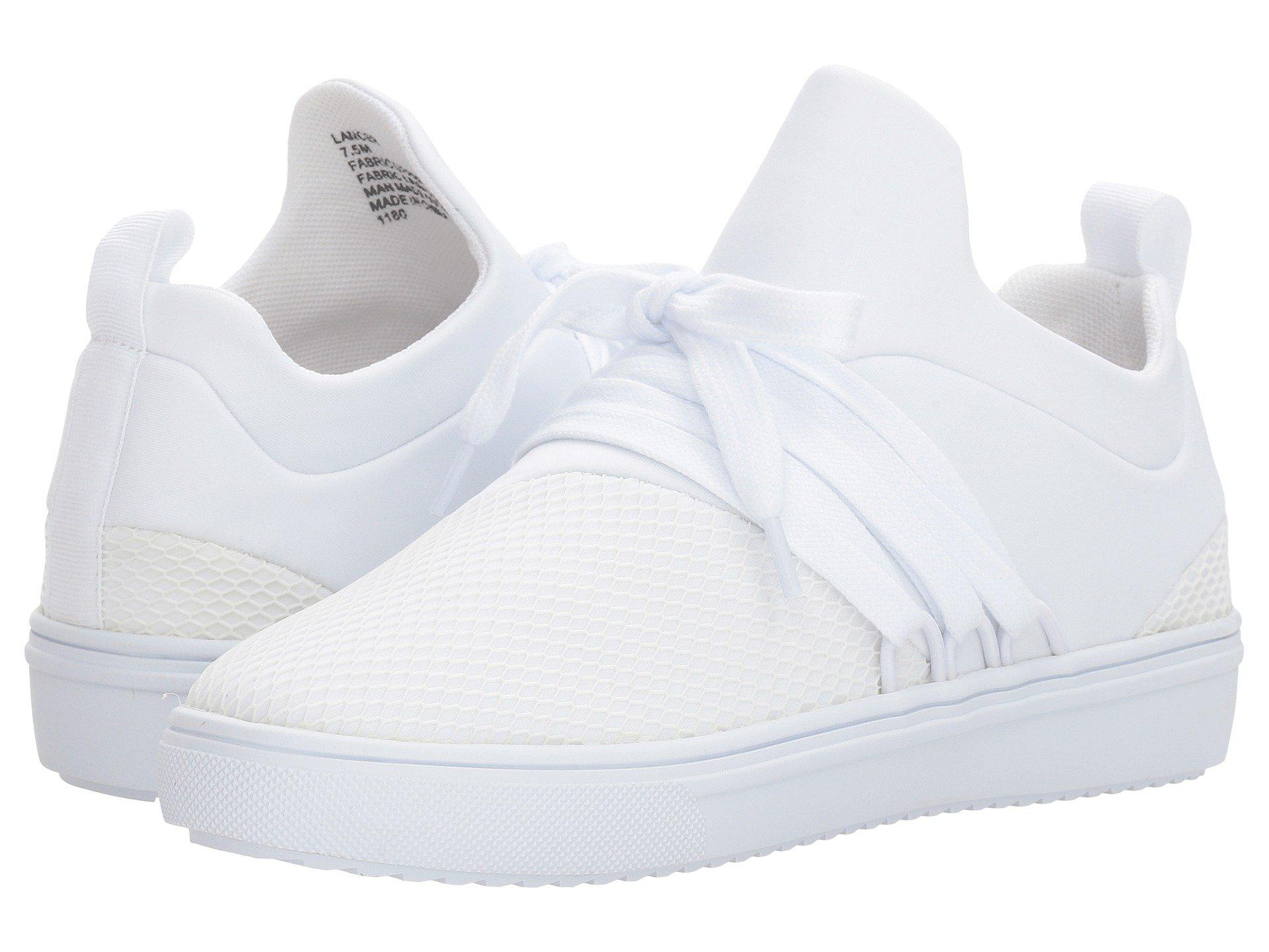 0980bda96f4 Lyst - Steve Madden Lancer Sneaker (white) Women s Shoes in White