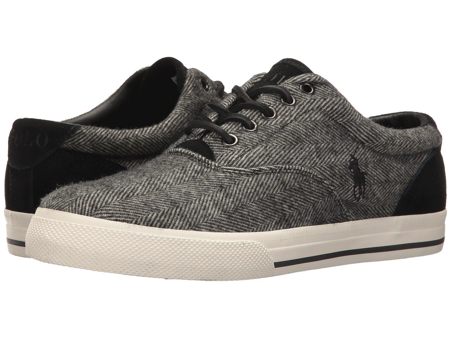 262ab017 Polo Ralph Lauren Mens Vaughn Saddle Fashion Sneaker