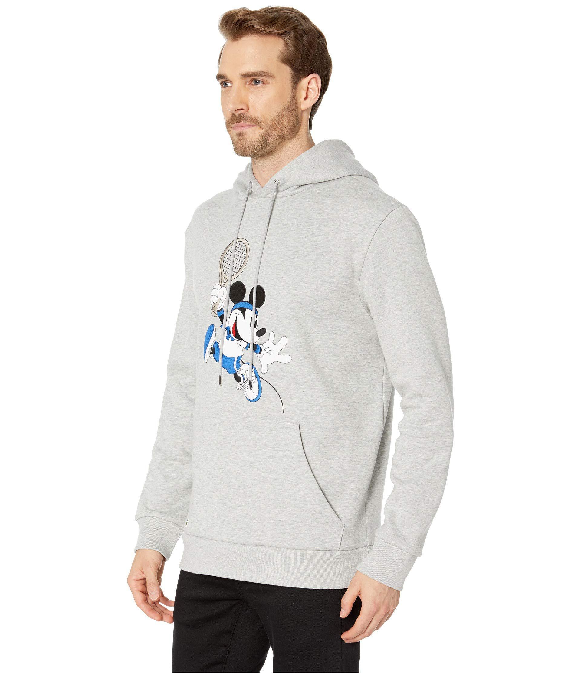 2822361a14 Chine silver Hooded Disney Lacoste Lyst r Sweatshirt Men's wxXSn